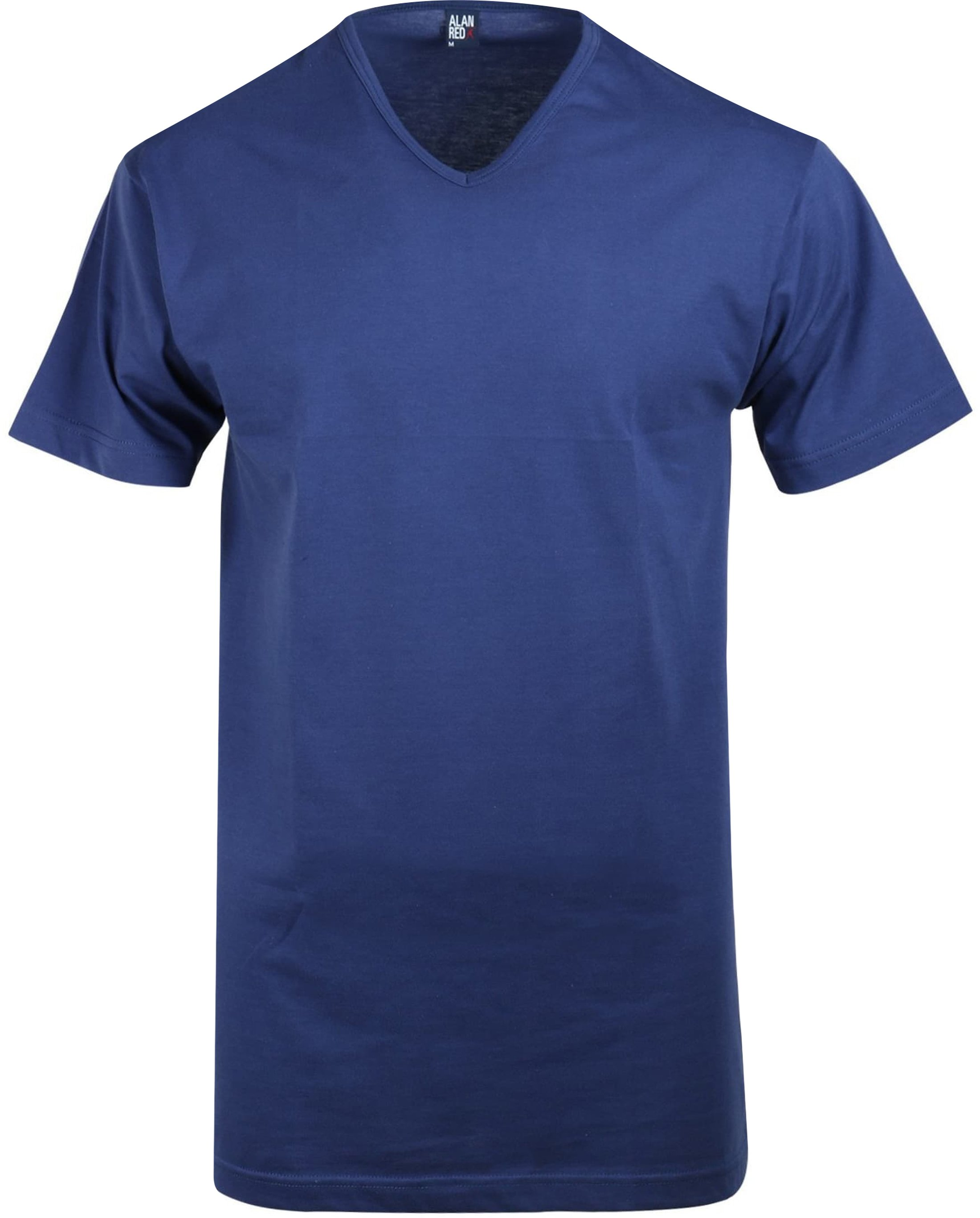 Alan Red Vermont T-shirt V-Neck Ultramarine 1-Pack foto 0