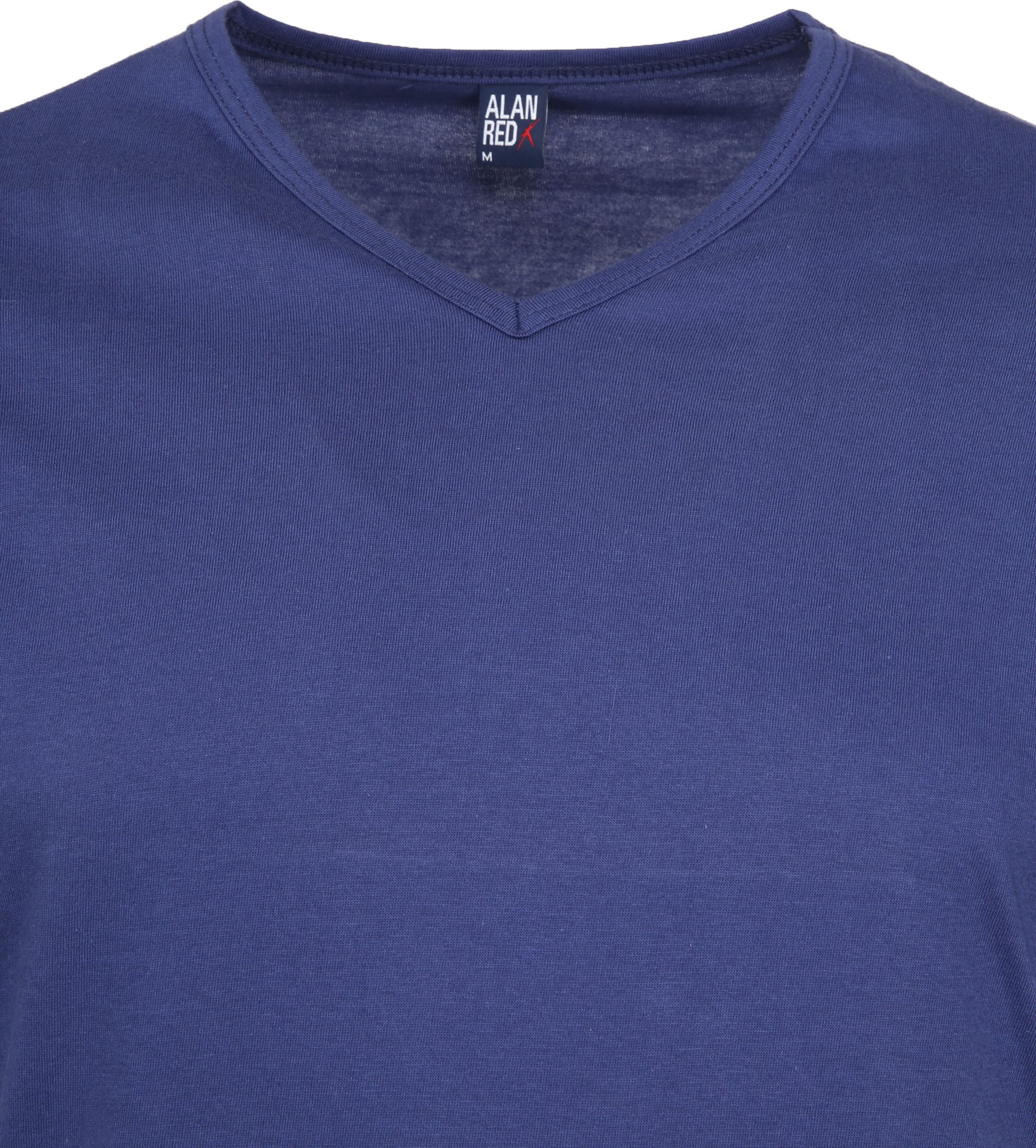 Alan Red Vermont T-shirts V-Hals Blauw (2Pack) foto 2