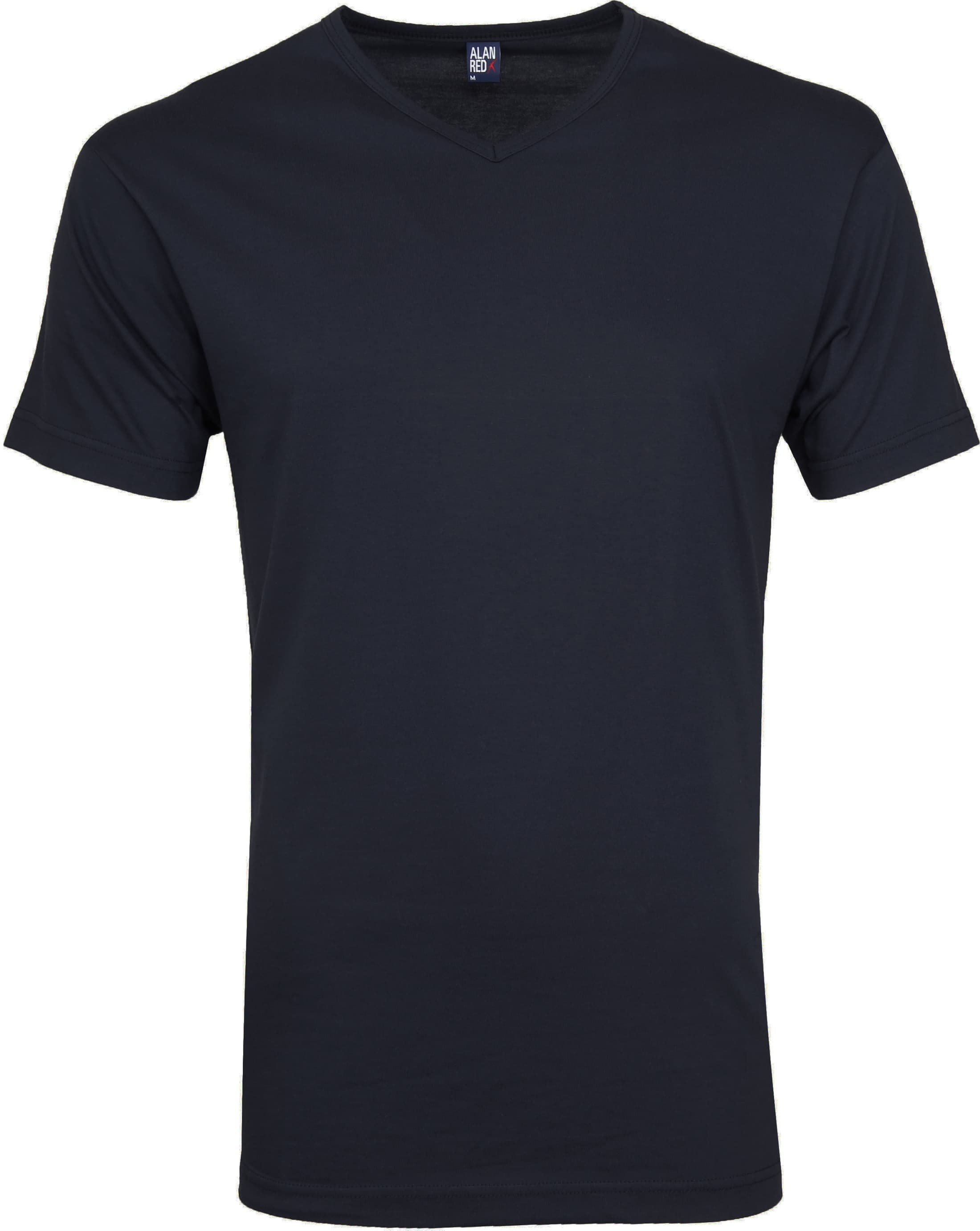 Alan Red Vermont T-shirts V-Hals Navy (2Pack) foto 1