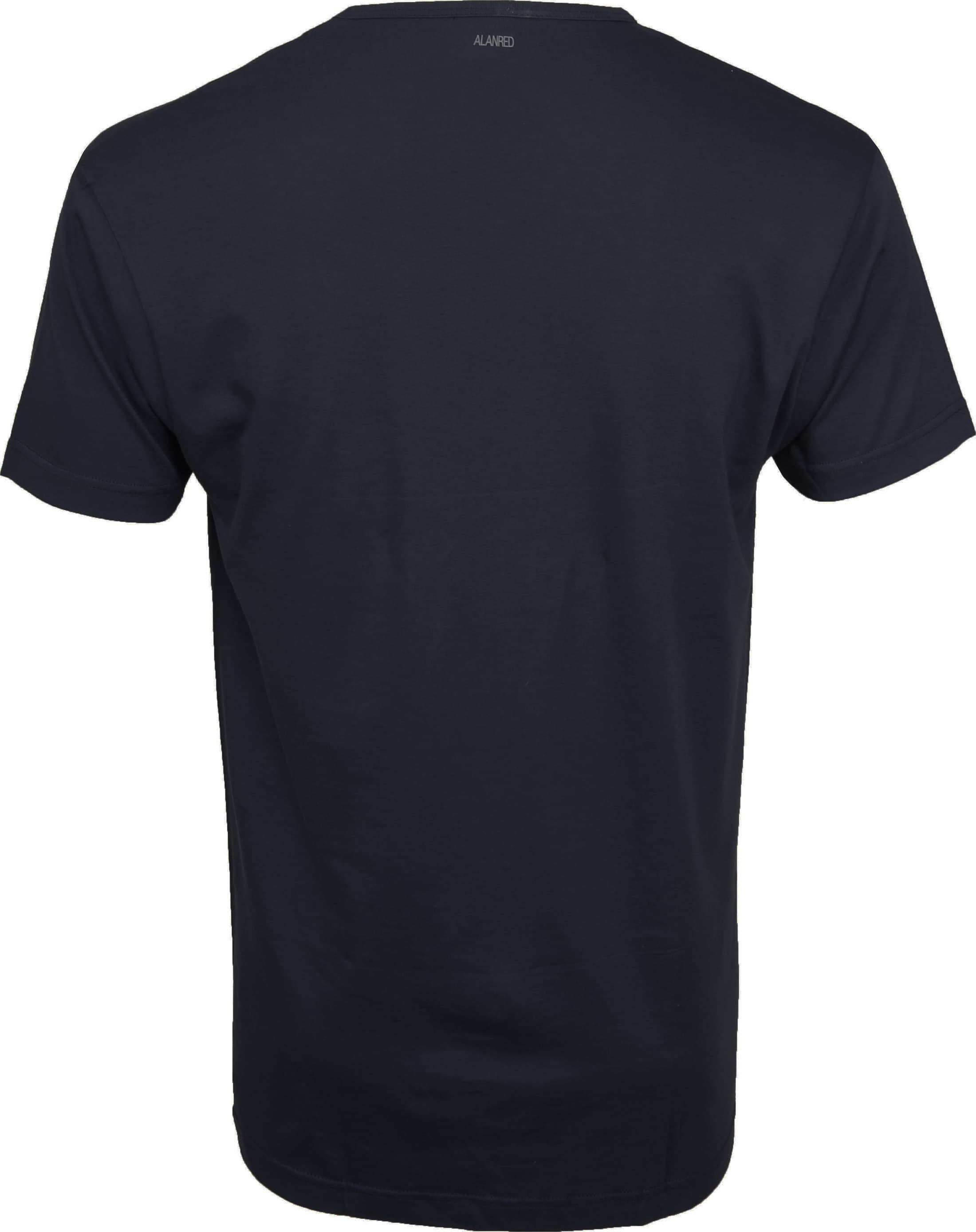 Alan Red Vermont T-shirts V-Hals Navy (2Pack) foto 4