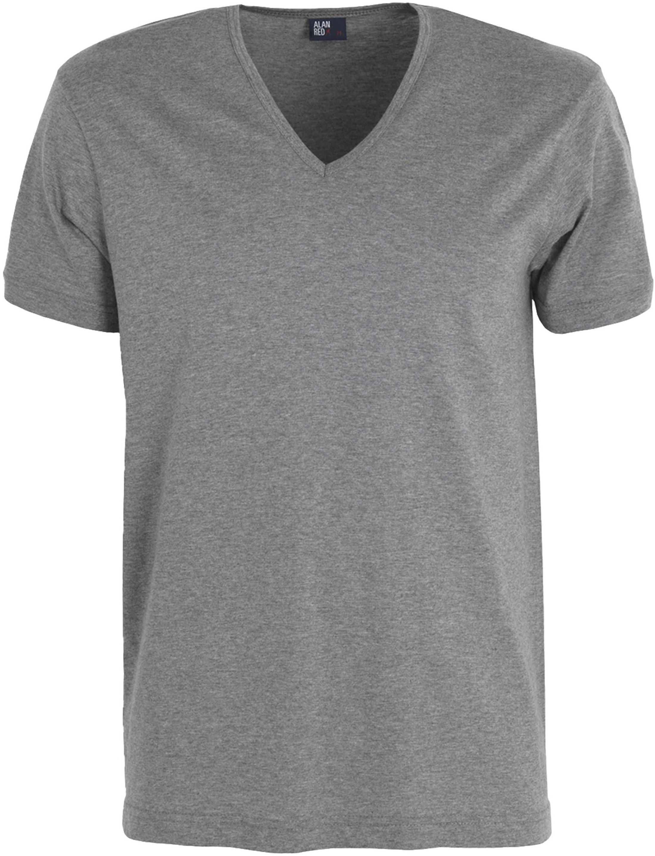 Alan Red Verner T-shirt Diepe V-Hals Mouse (1Pack) foto 0