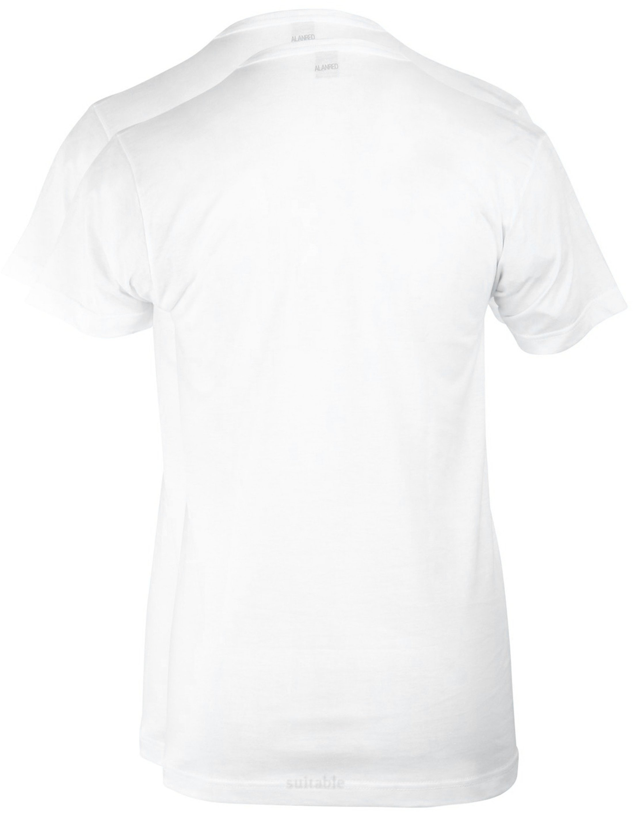 Alan Red West-Virginia V-Neck White 2-Pack foto 2