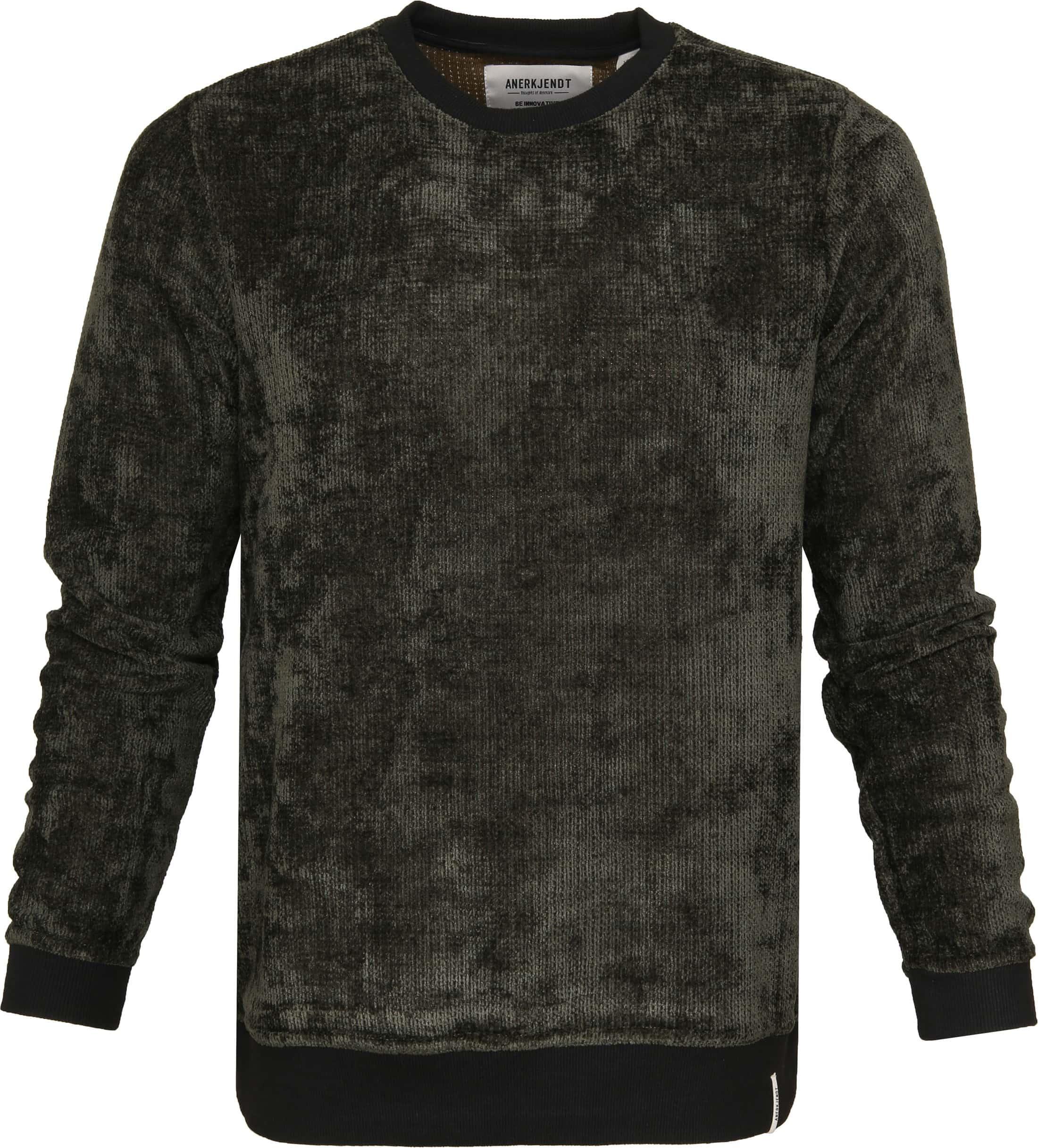 Anerkjendt Akalex Sweater Dunkelgrün foto 0