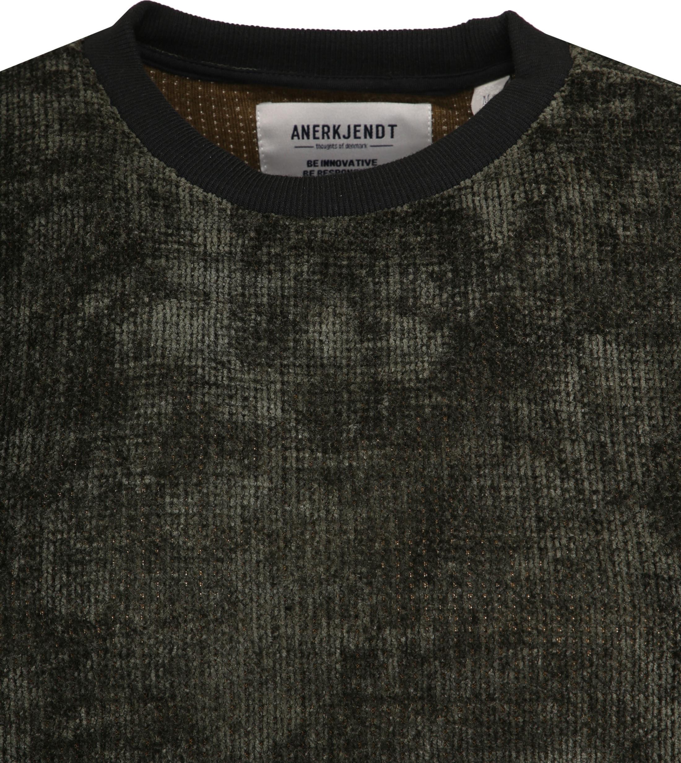 Anerkjendt Akalex Sweater Dunkelgrün foto 1
