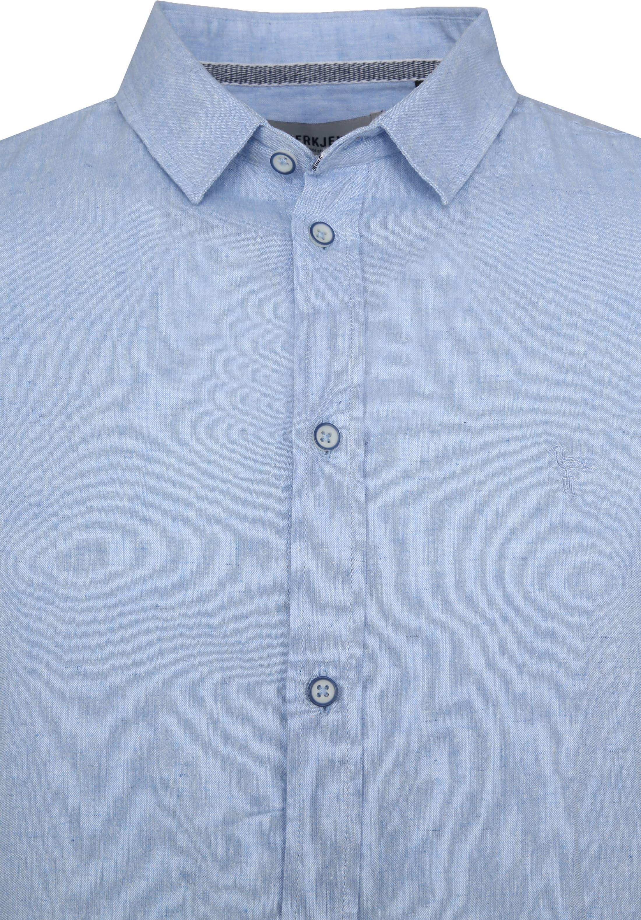 Anerkjendt Overhemd Kody Forget Blue foto 1