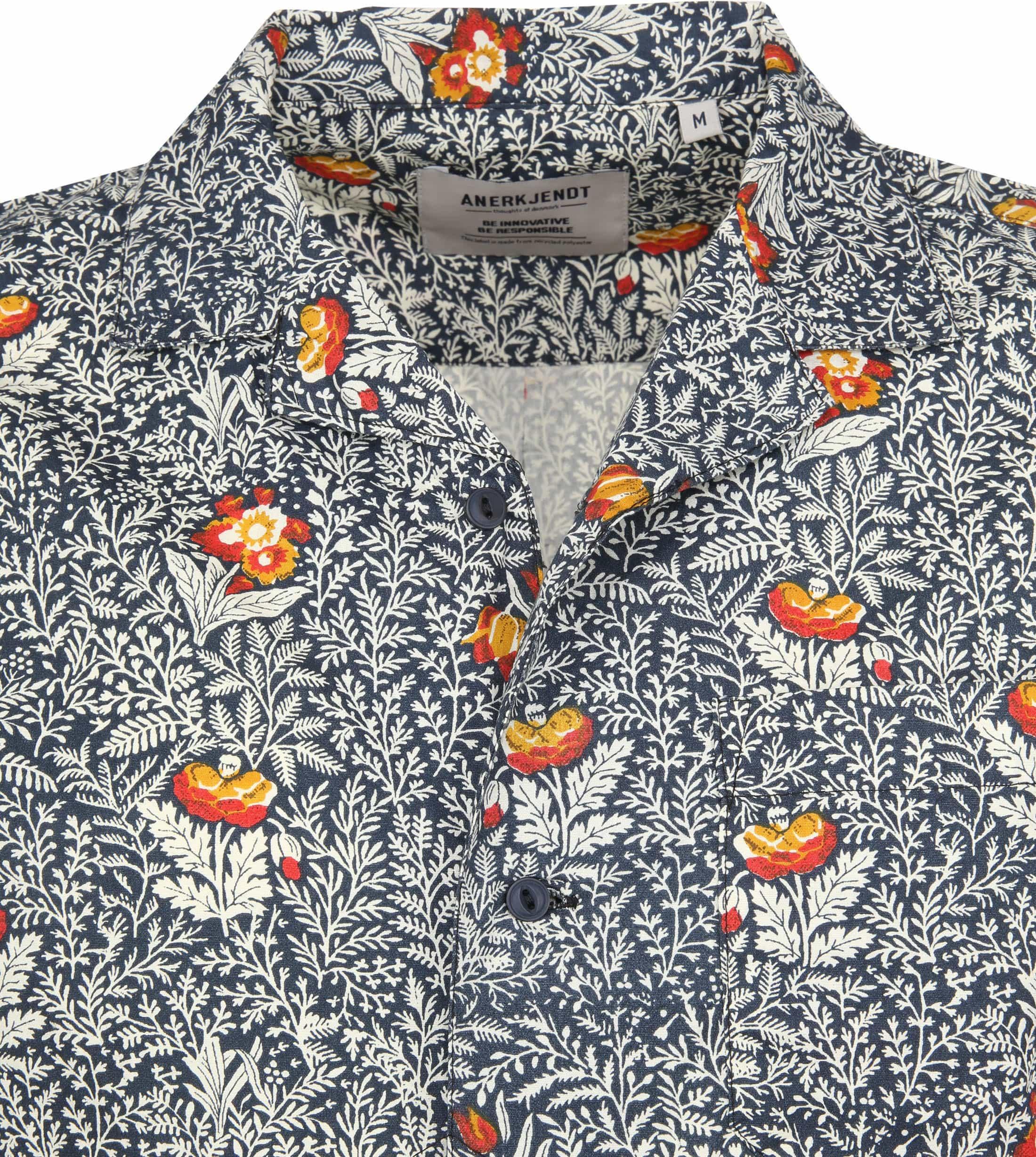 Anerkjendt Shirt Leo Blumen foto 2