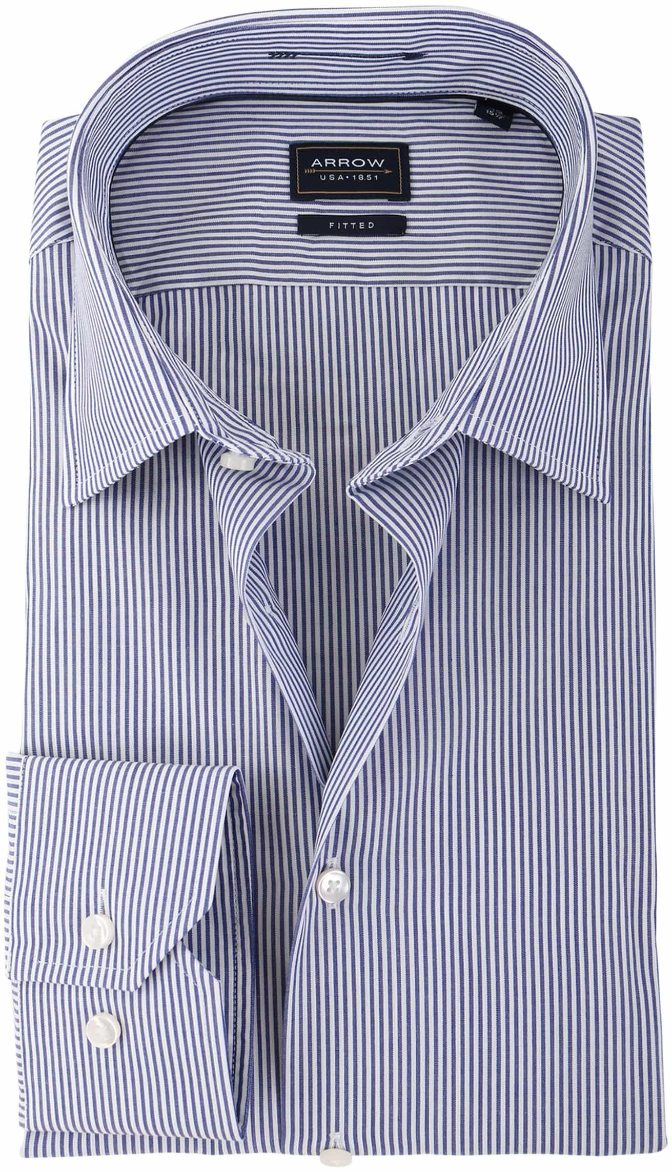 Arrow Overhemd Blauw Streep foto 0