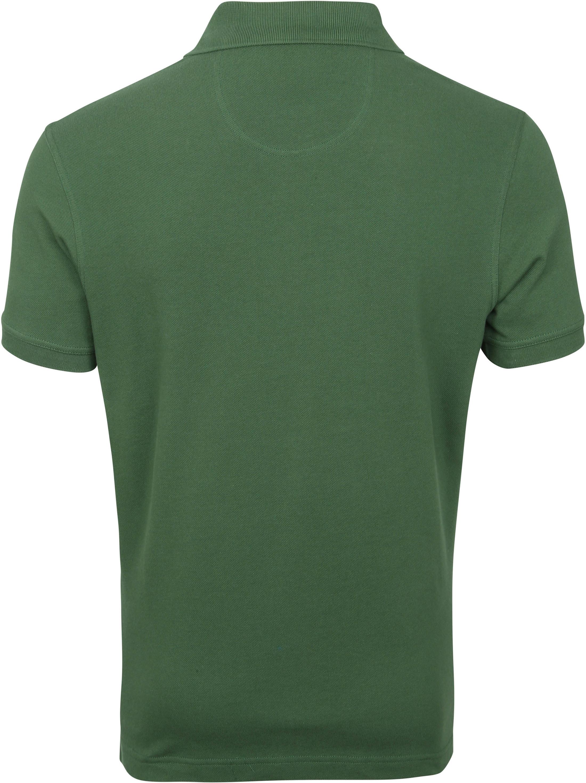 Barbour Basic Pique Poloshirt Dunkelgrün