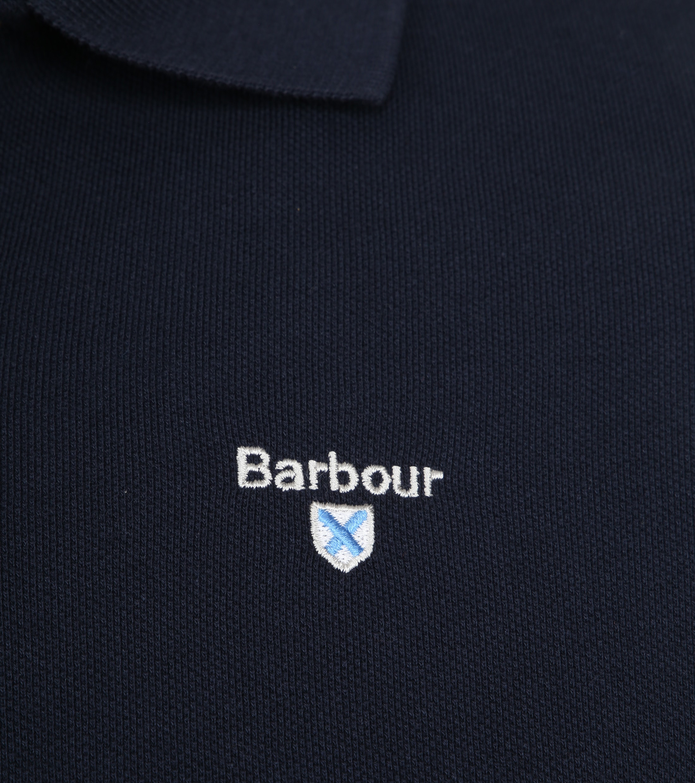 Barbour Basic Poloshirt Navy foto 2