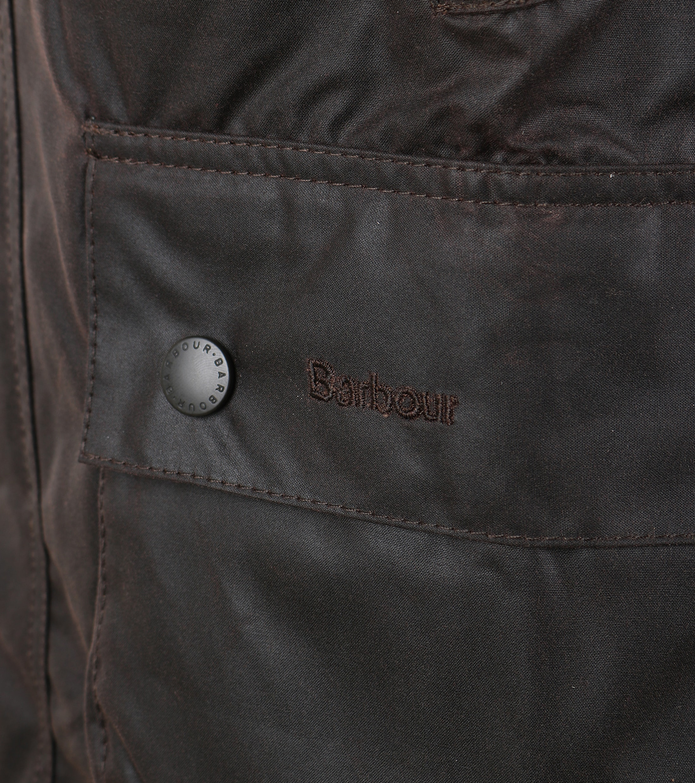 Barbour Bedale Wax Jacket Brown foto 4