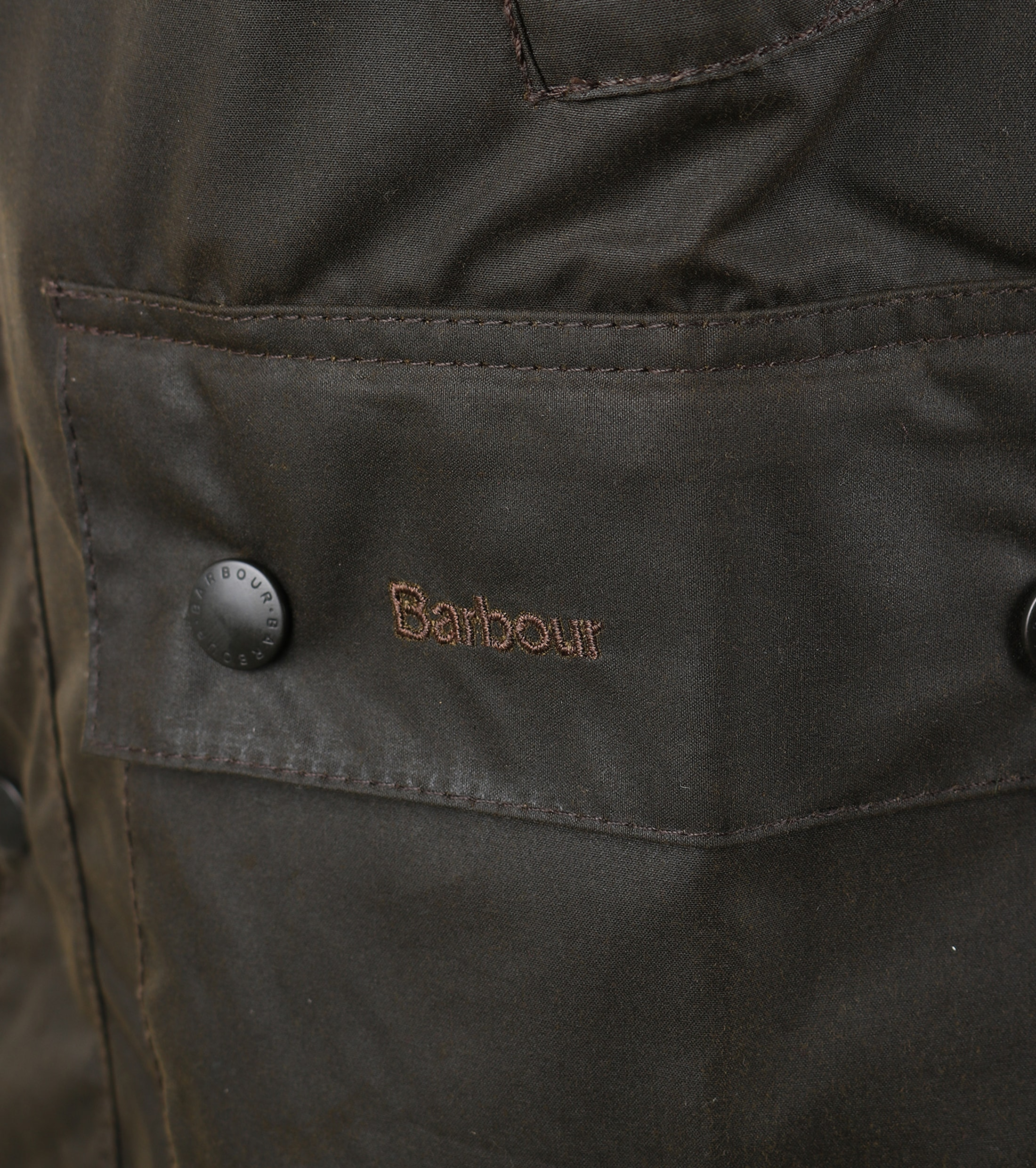 Barbour Bedale Wax Jacket Olive Green