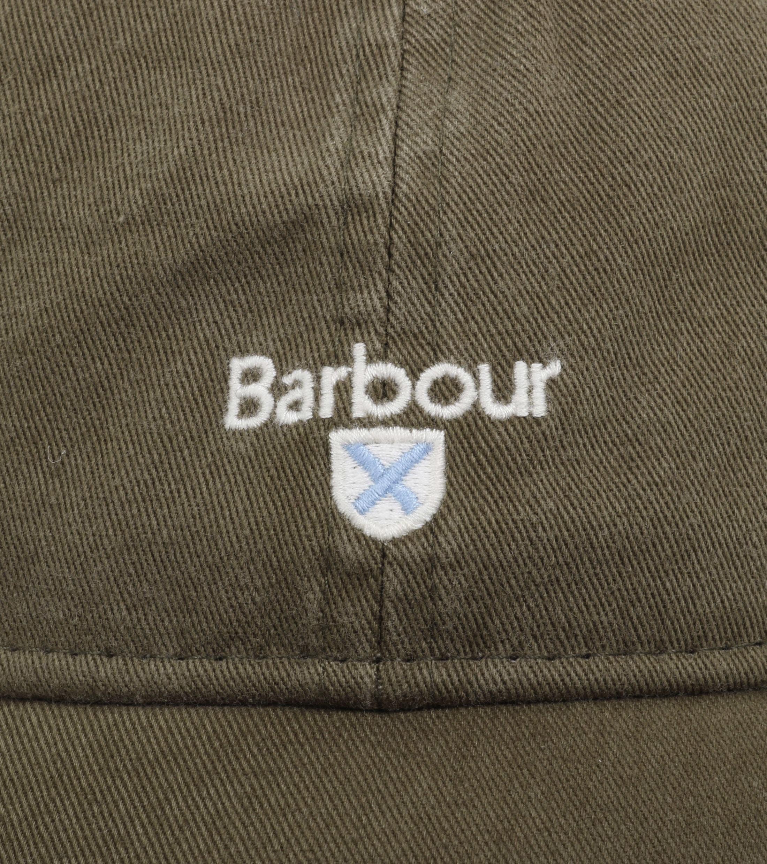 Barbour Cap Olive Green foto 1