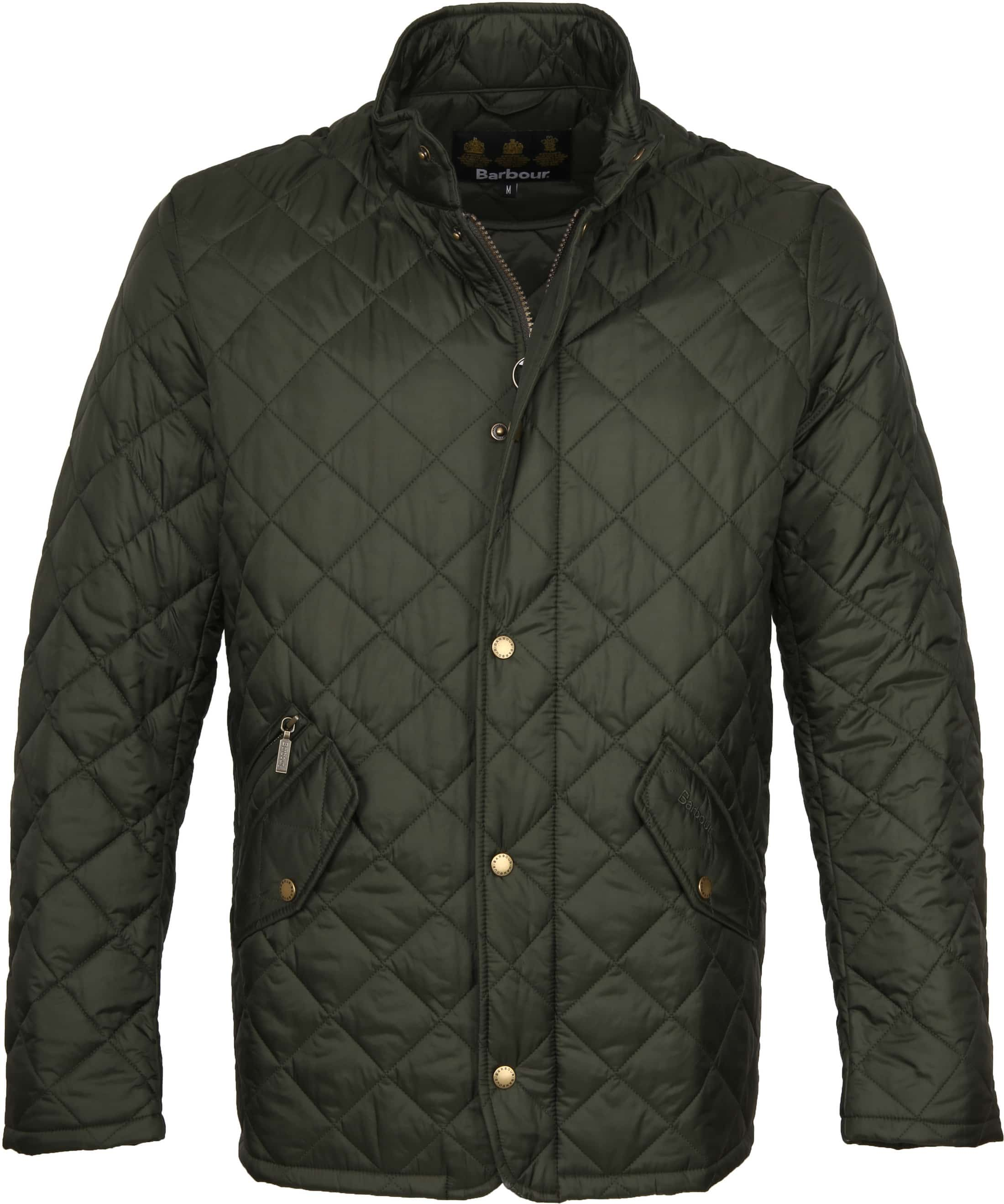 Barbour Chelsea Jack Army Quilted foto 0