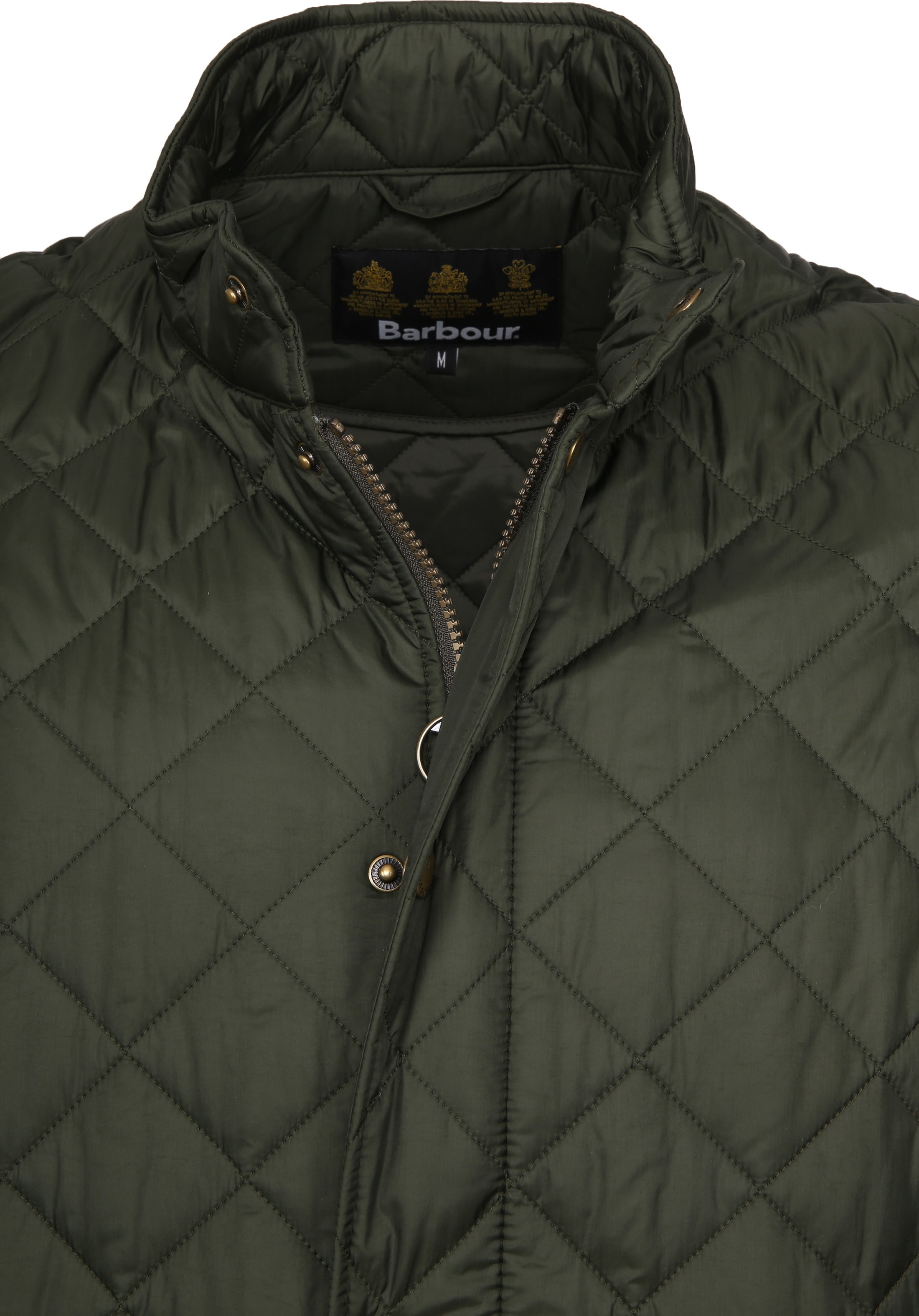 Barbour Chelsea Jack Army Quilted foto 1