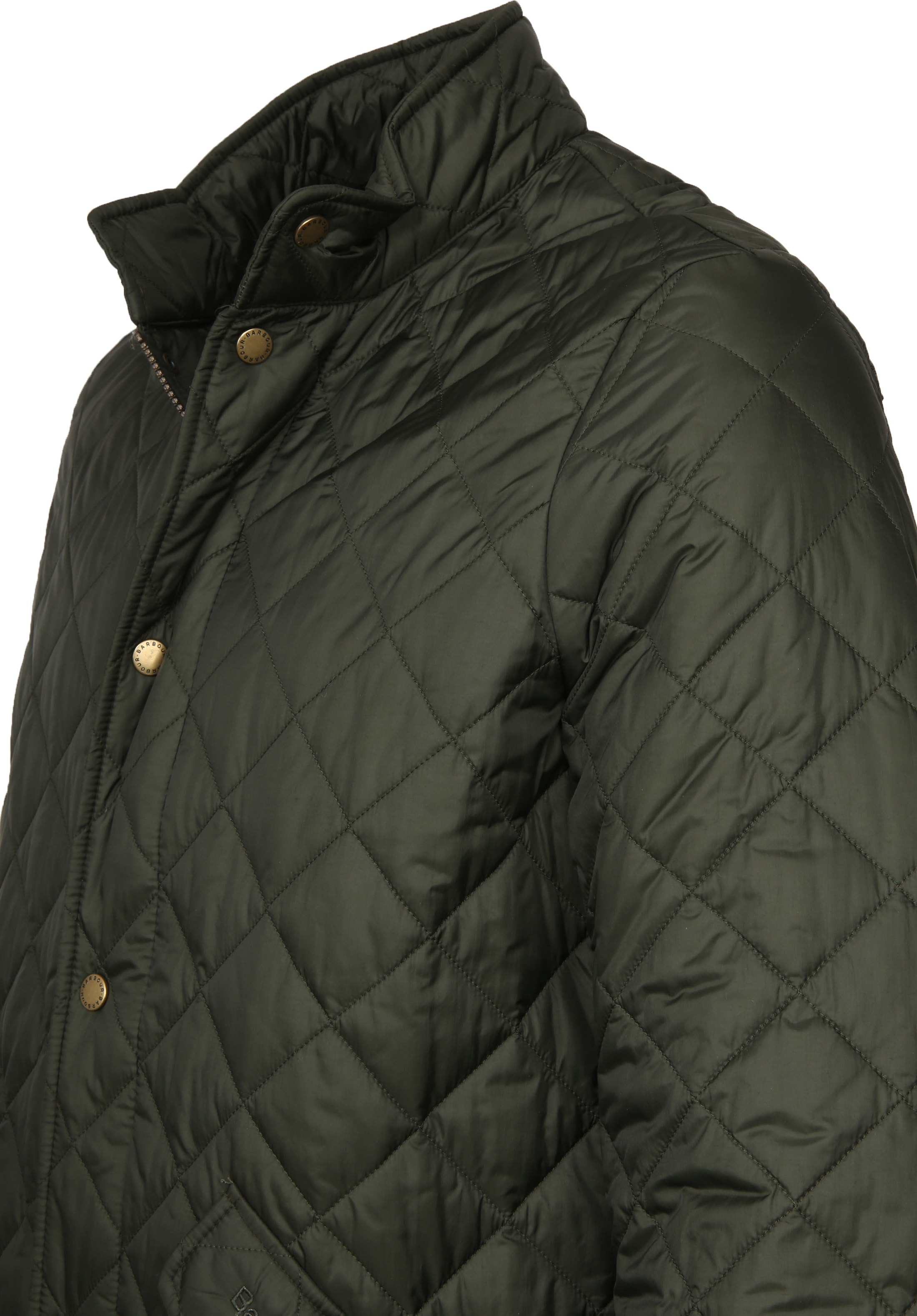 Barbour Chelsea Jack Army Quilted foto 3