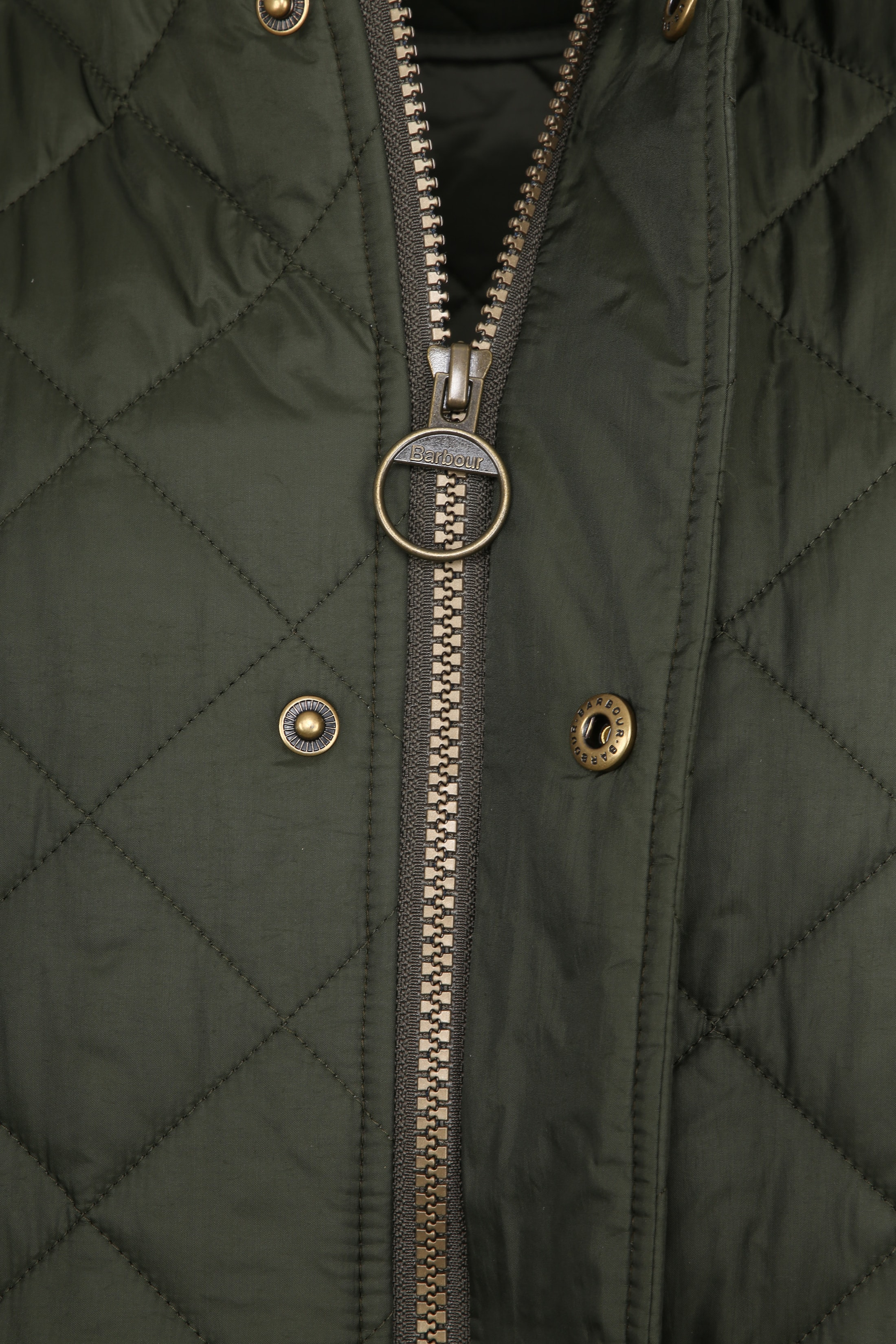 Barbour Chelsea Jack Army Quilted foto 4