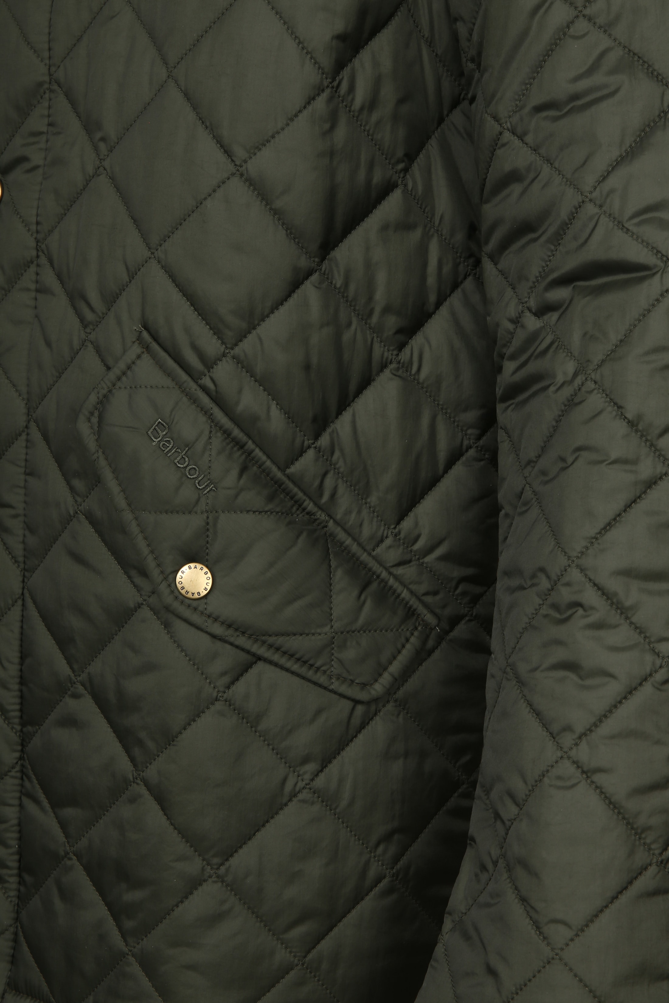 Barbour Chelsea Jack Army Quilted foto 5