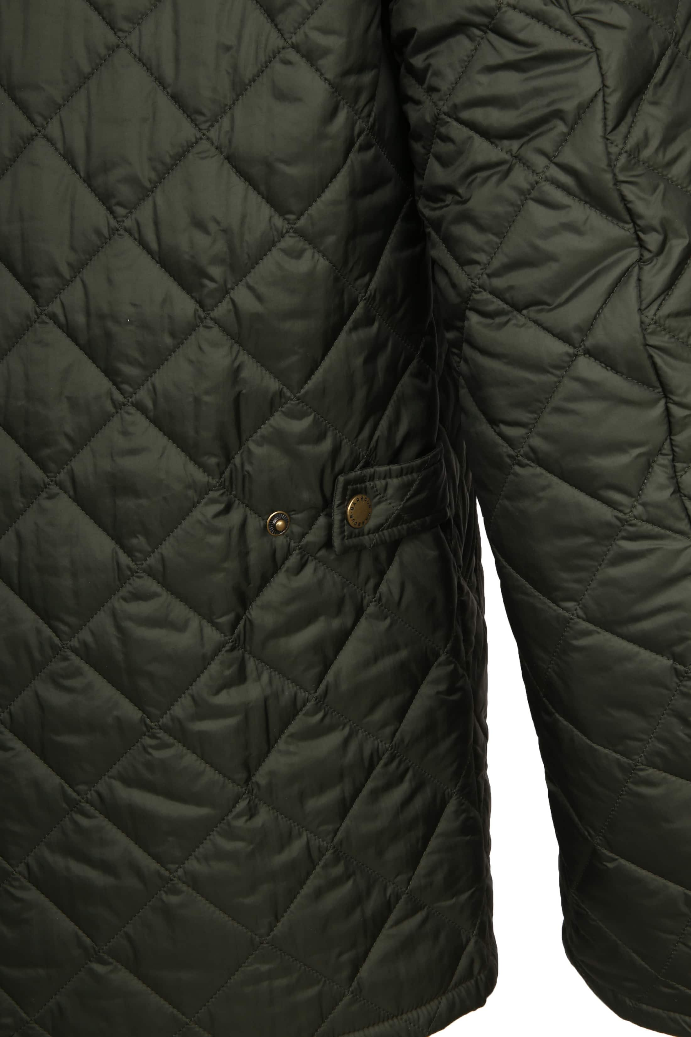 Barbour Chelsea Jack Army Quilted foto 6