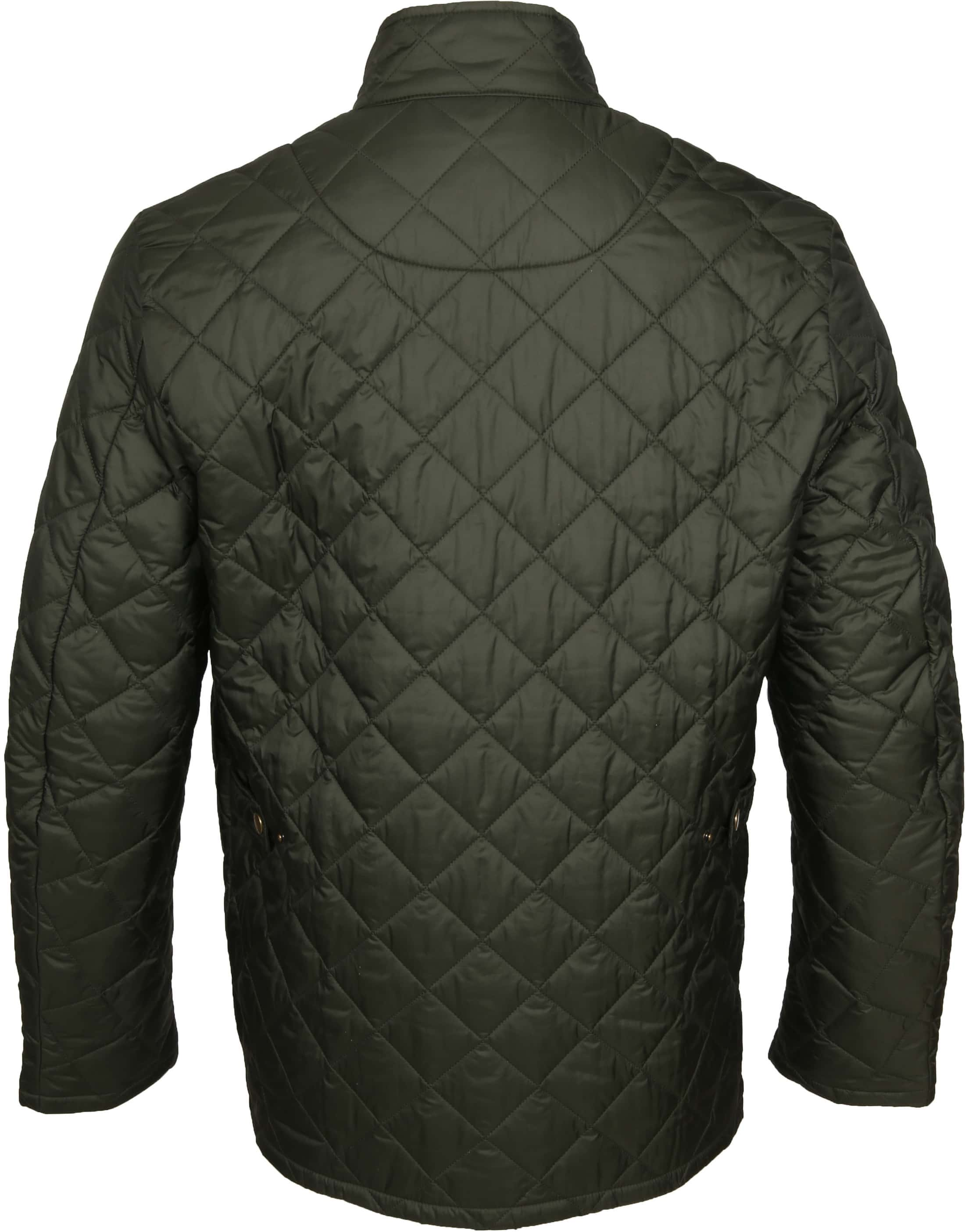 Barbour Chelsea Jack Army Quilted foto 7