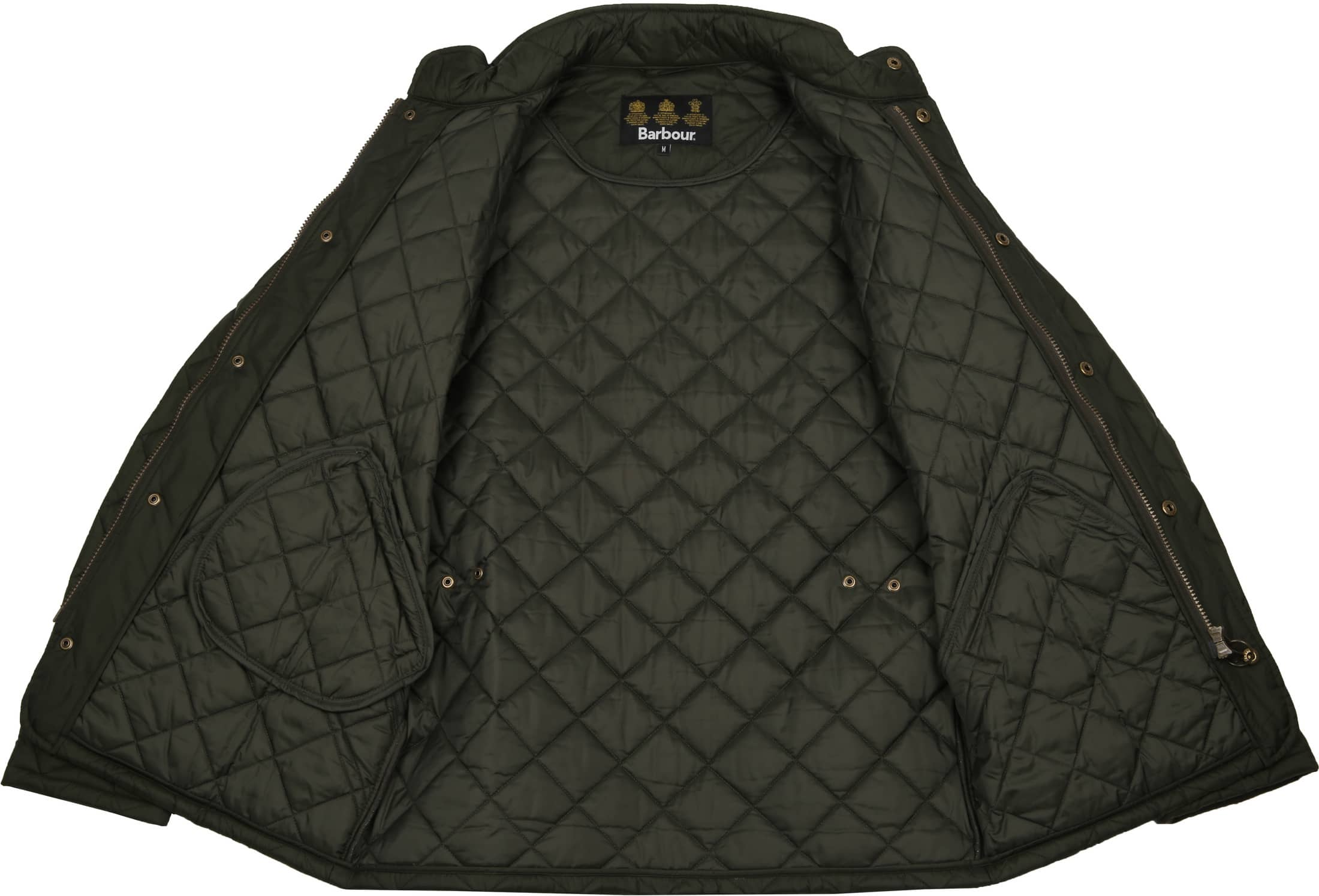 Barbour Chelsea Jack Army Quilted foto 8