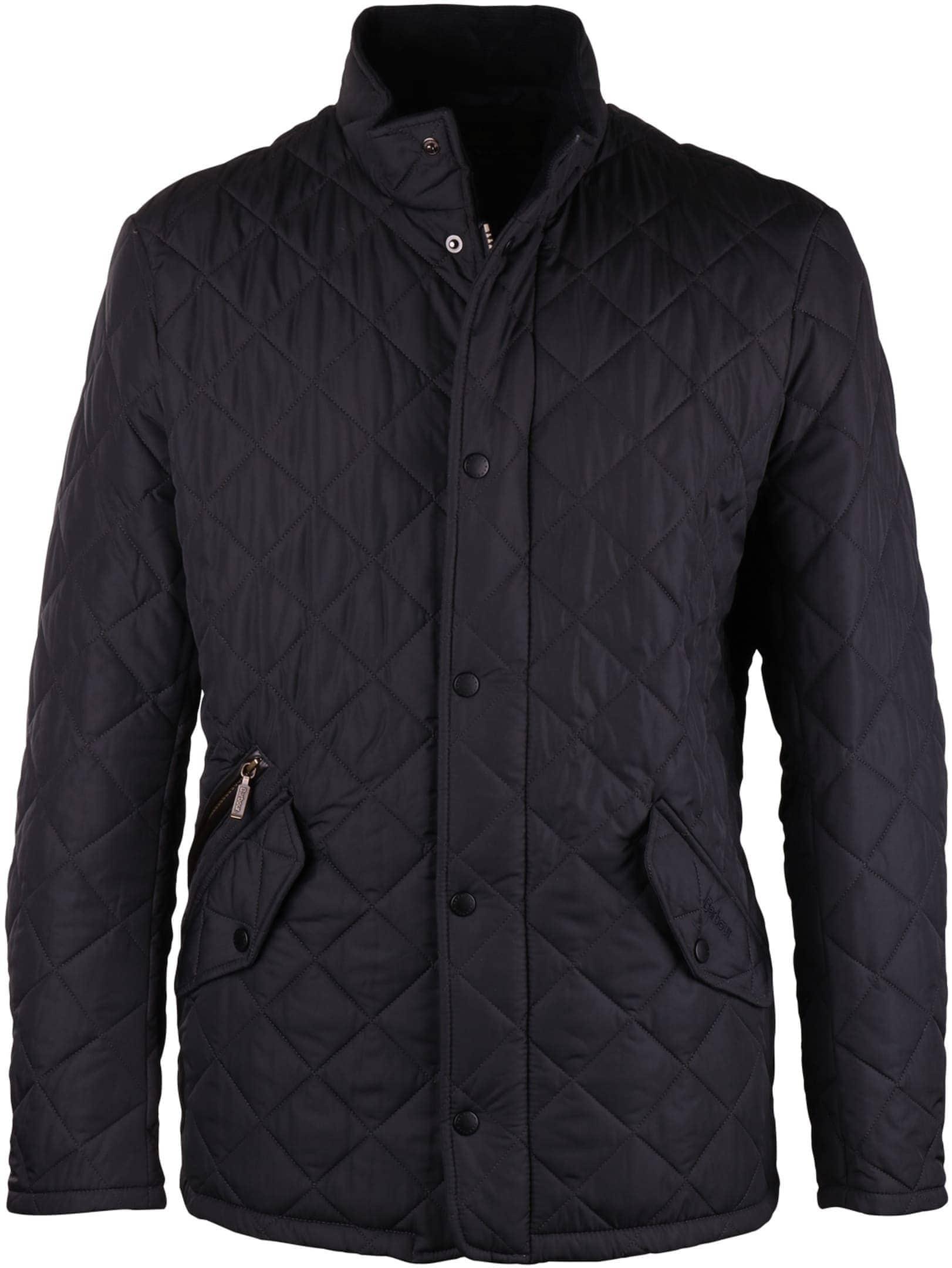 Barbour Chelsea Sportsquilt Jacket Navy foto 0