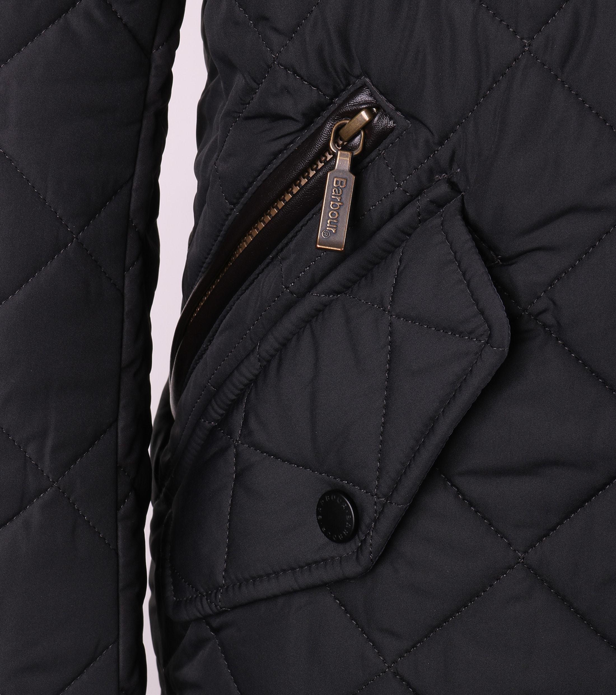 Barbour Chelsea Sportsquilt Jacket Navy foto 4