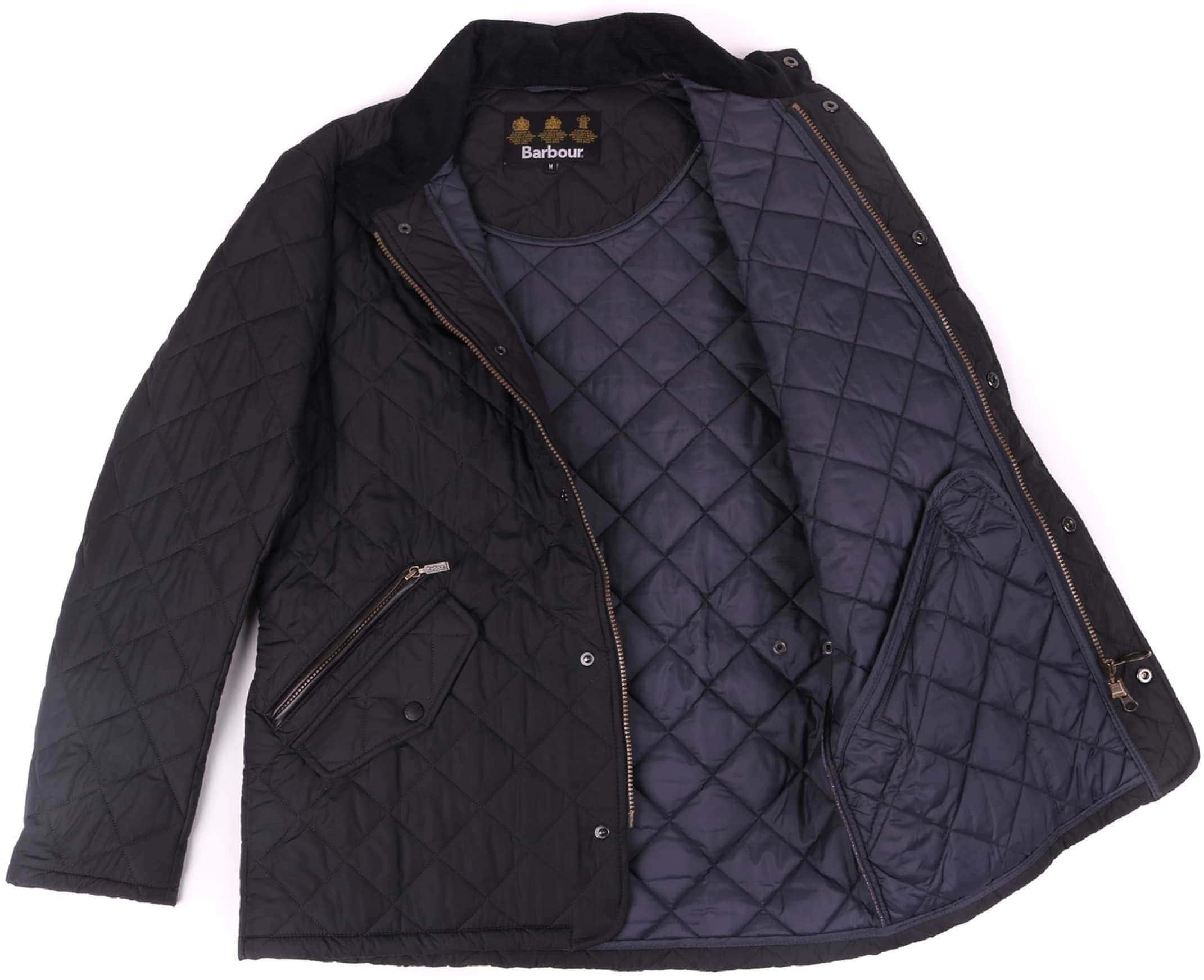 Barbour Chelsea Sportsquilt Jacket Navy foto 7