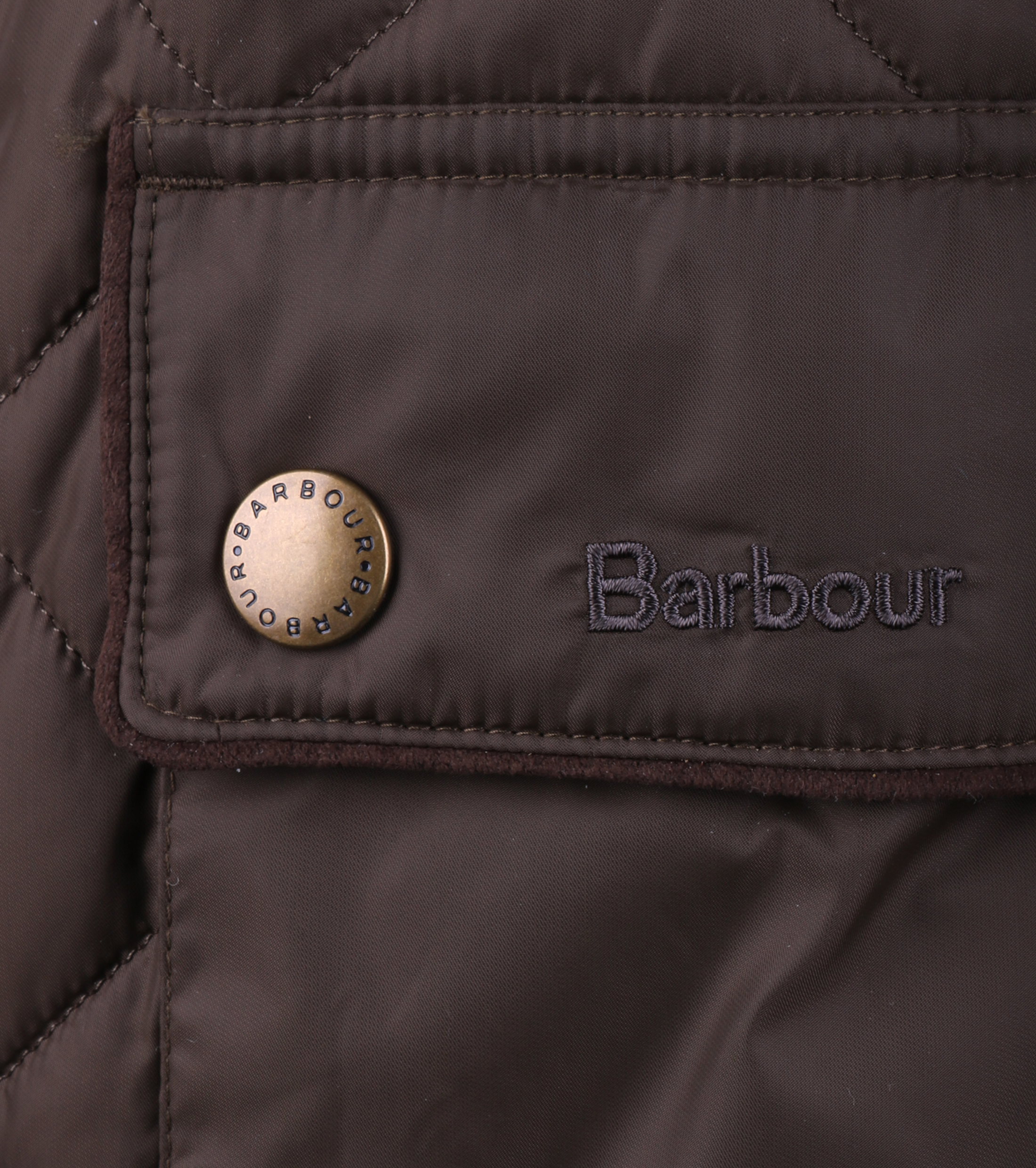 Barbour Chukka Quilt Olive jas foto 3