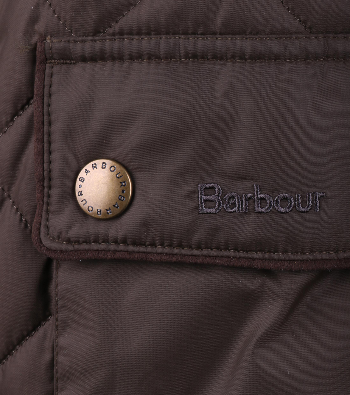 Barbour Chukka Steppjacke Olivgrün foto 3