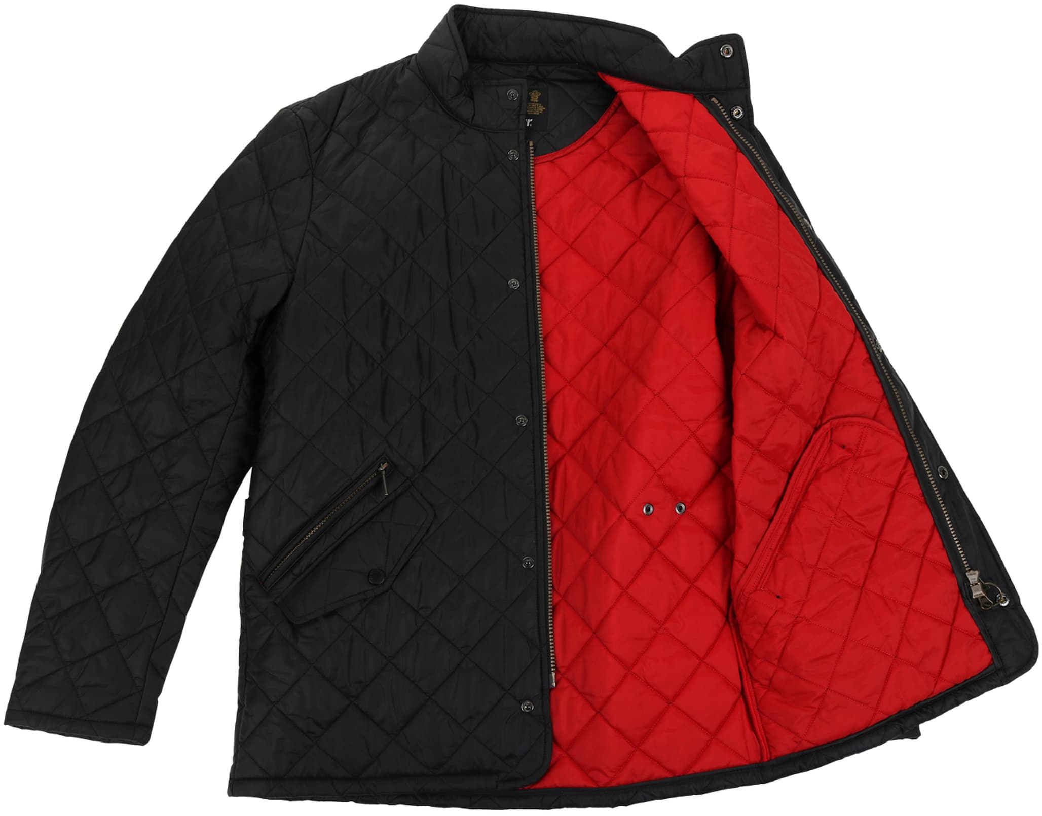 Barbour Flyweight Chelsea Quilted Steppjacke Schwarz
