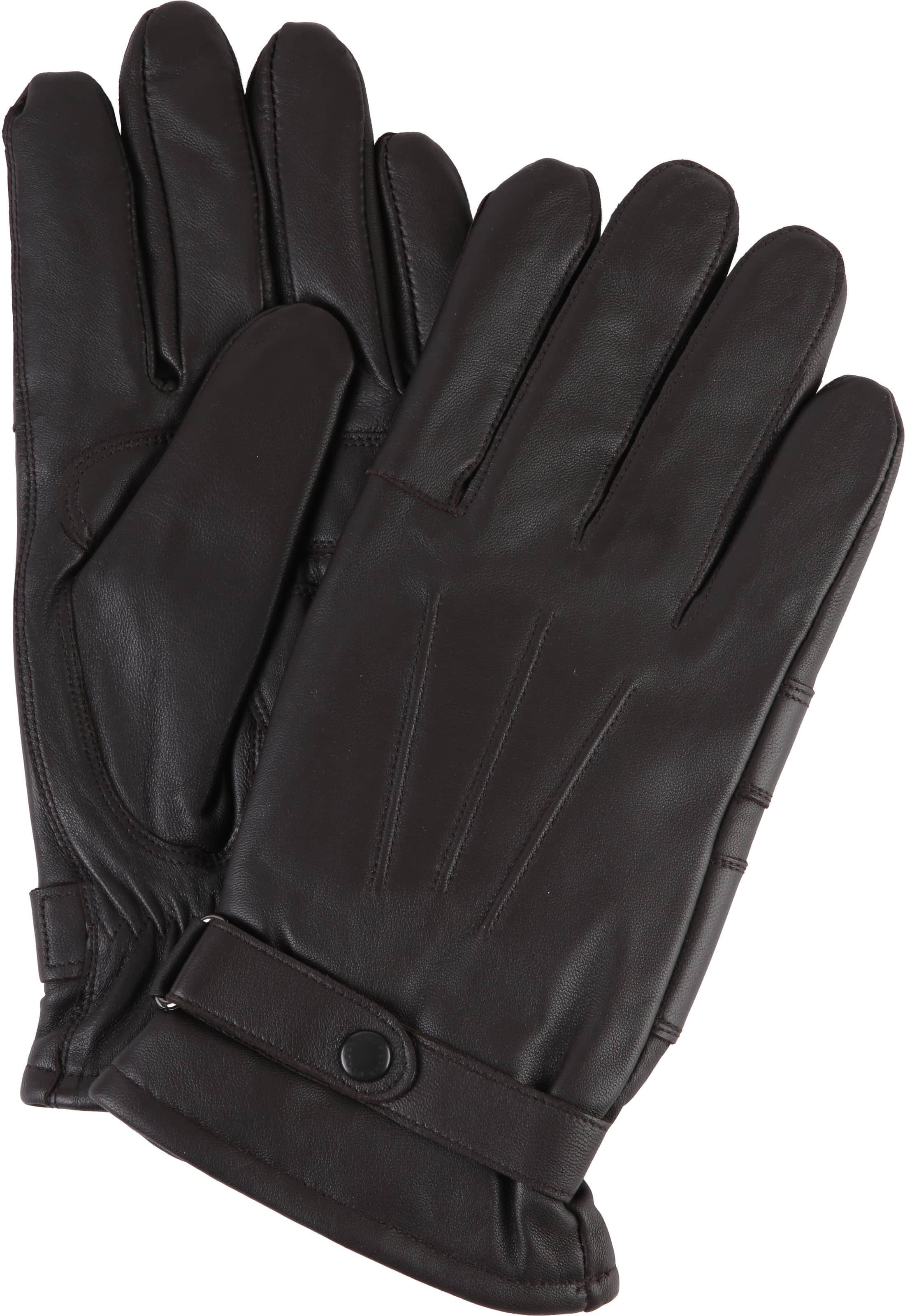 Barbour Gloves Smooth Leather Brown  foto 0