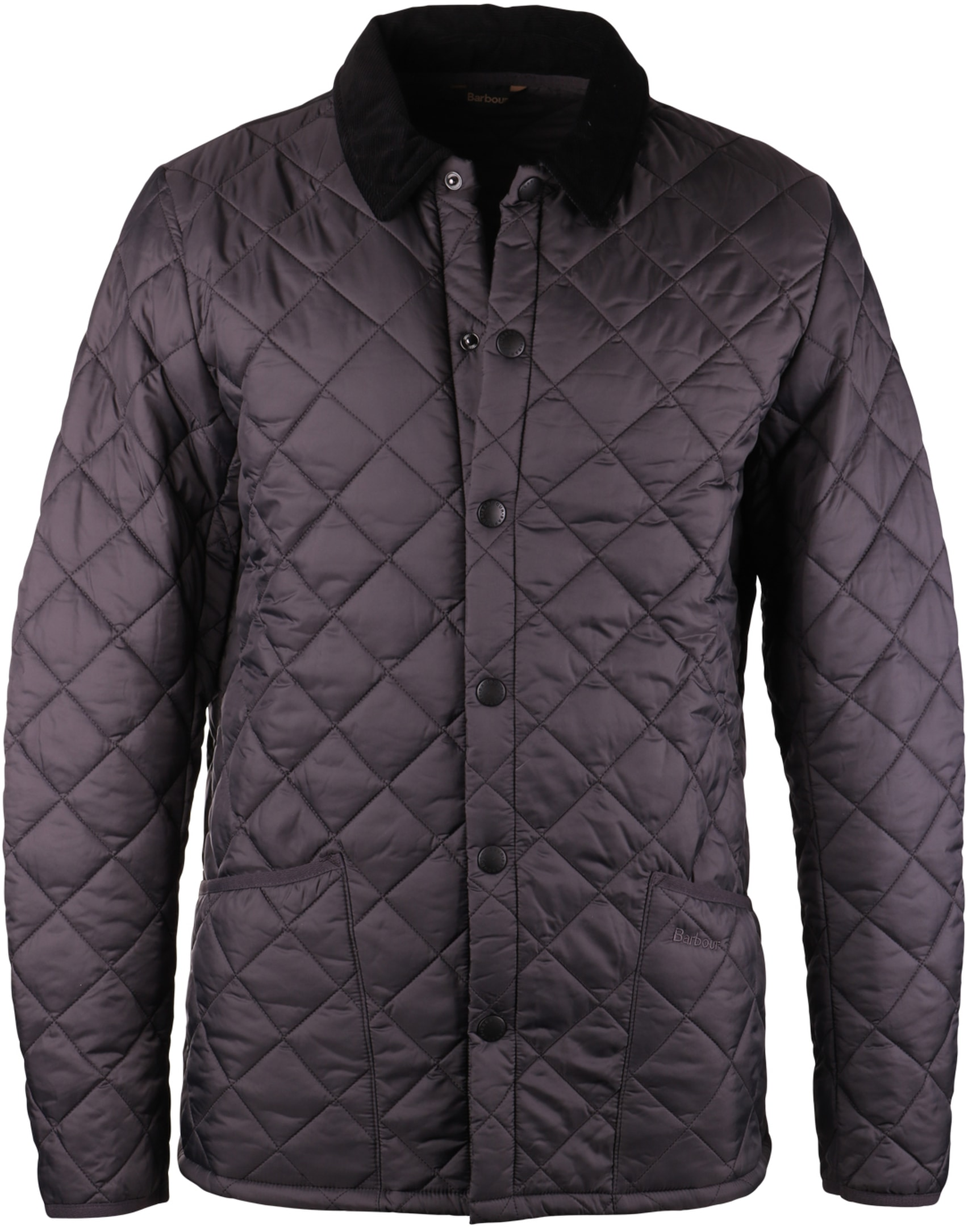 Barbour Heritage Liddesdale Quilt Charcoal foto 0