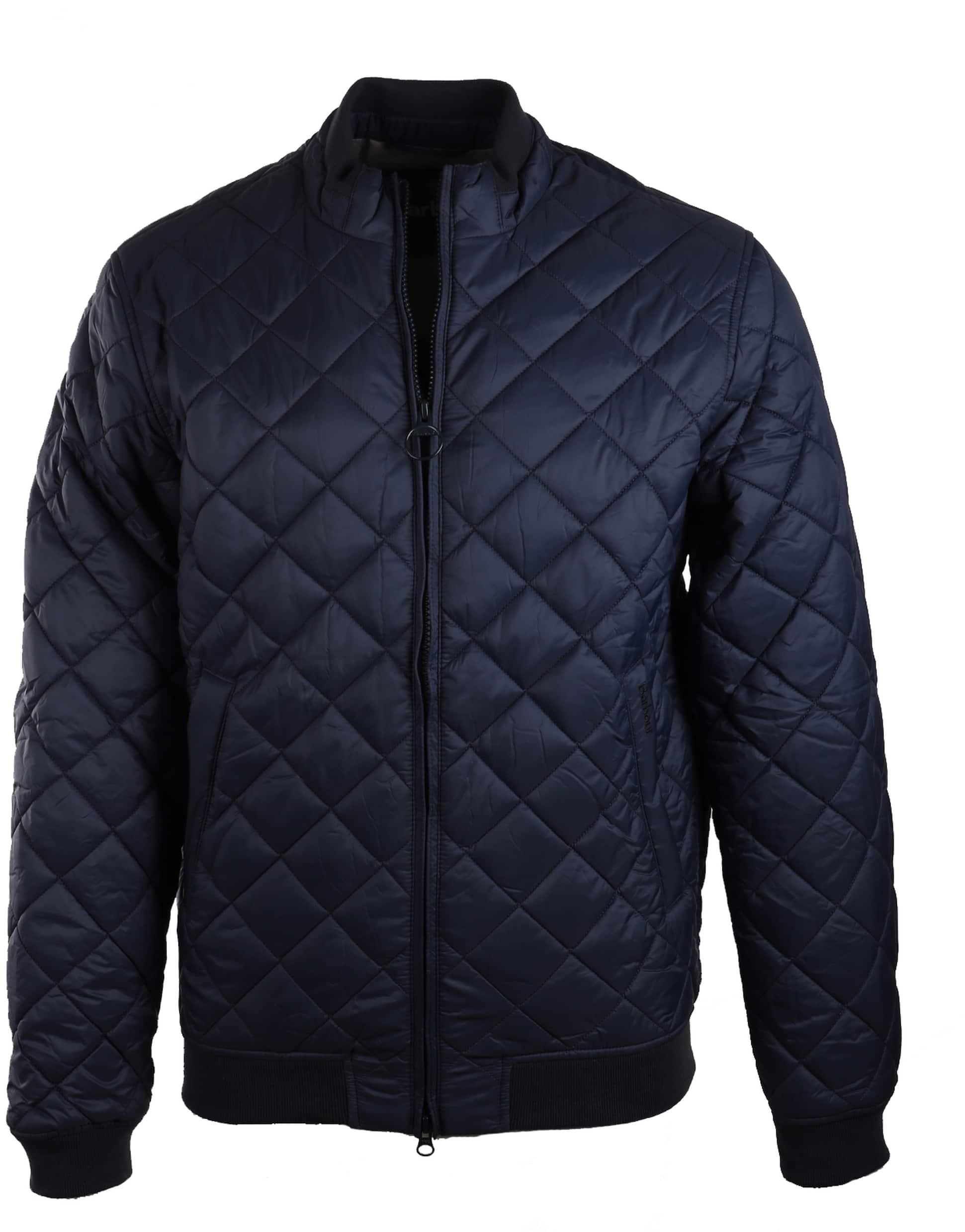 Barbour Holton Quilted Jas Donkerblauw foto 0