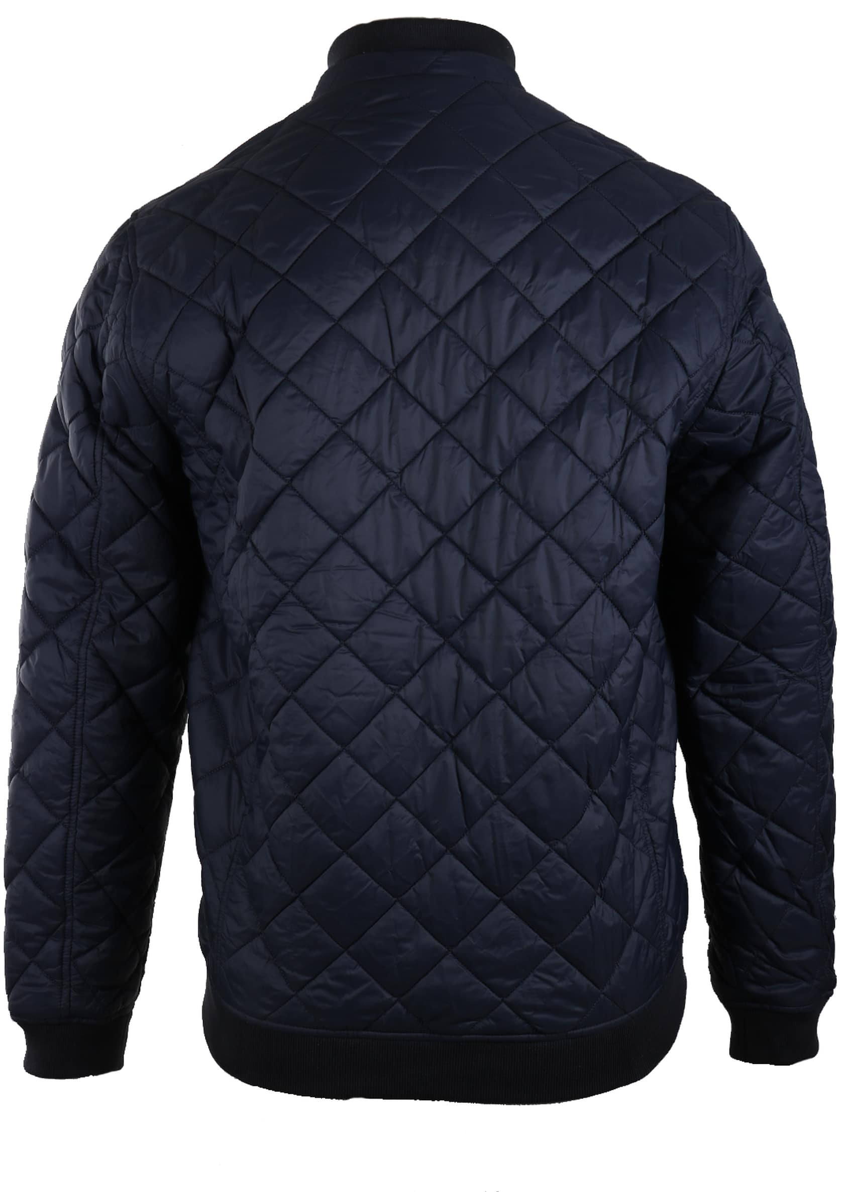Barbour Holton Quilted Jas Donkerblauw foto 1