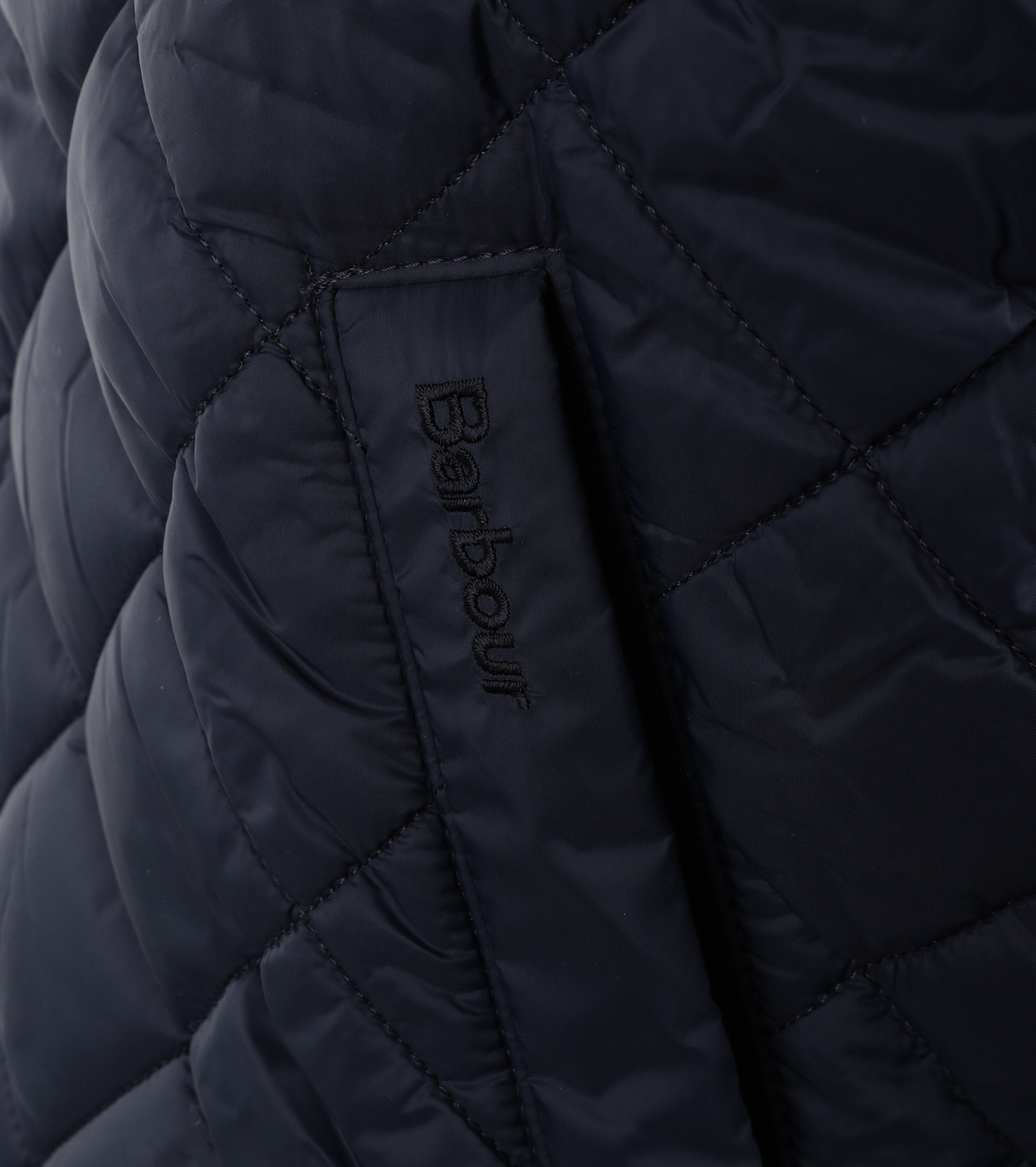 Barbour Holton Quilted Jas Donkerblauw foto 2