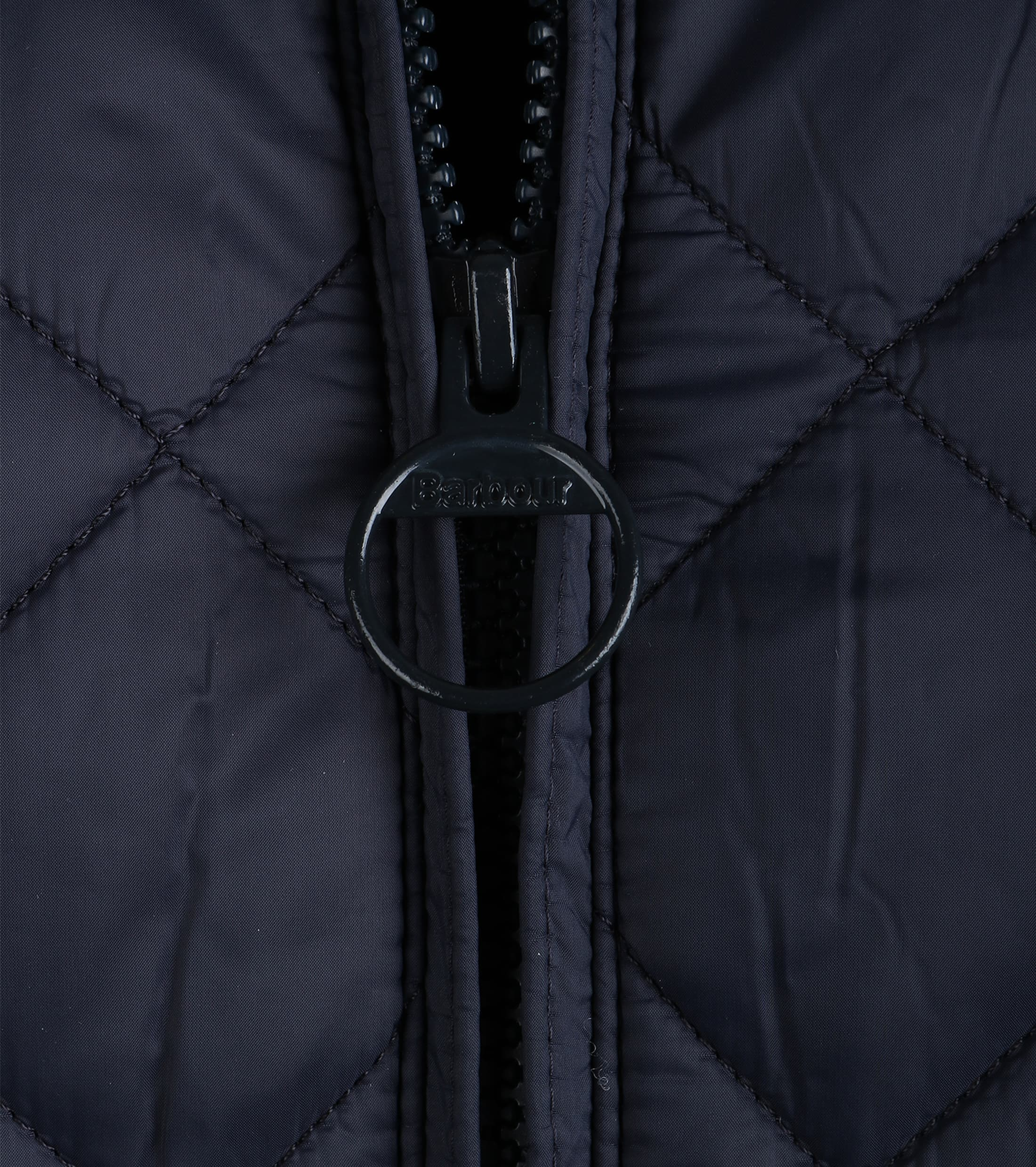 Barbour Holton Quilted Jas Donkerblauw foto 3
