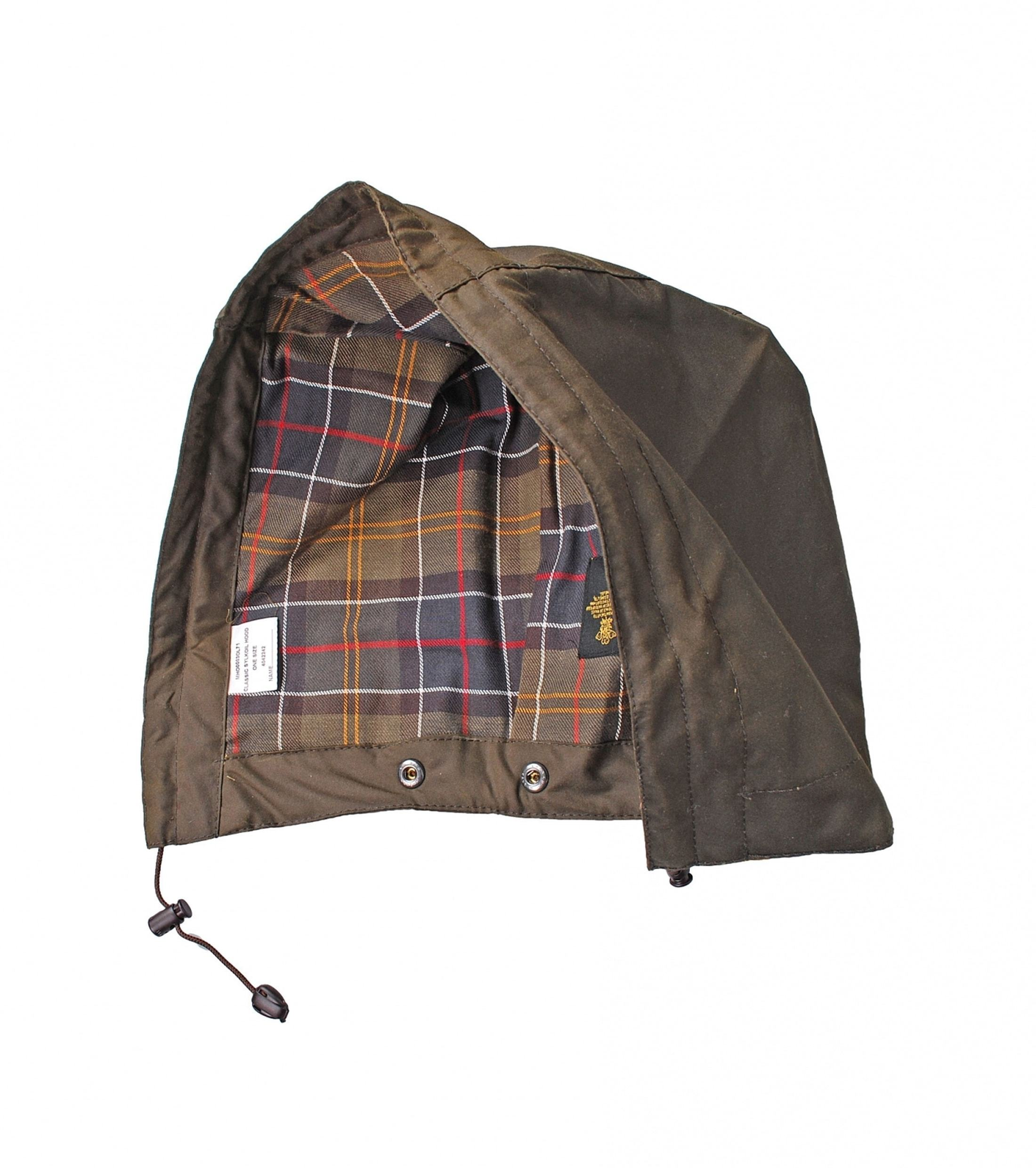 Barbour Hood Beaufort Olive foto 0