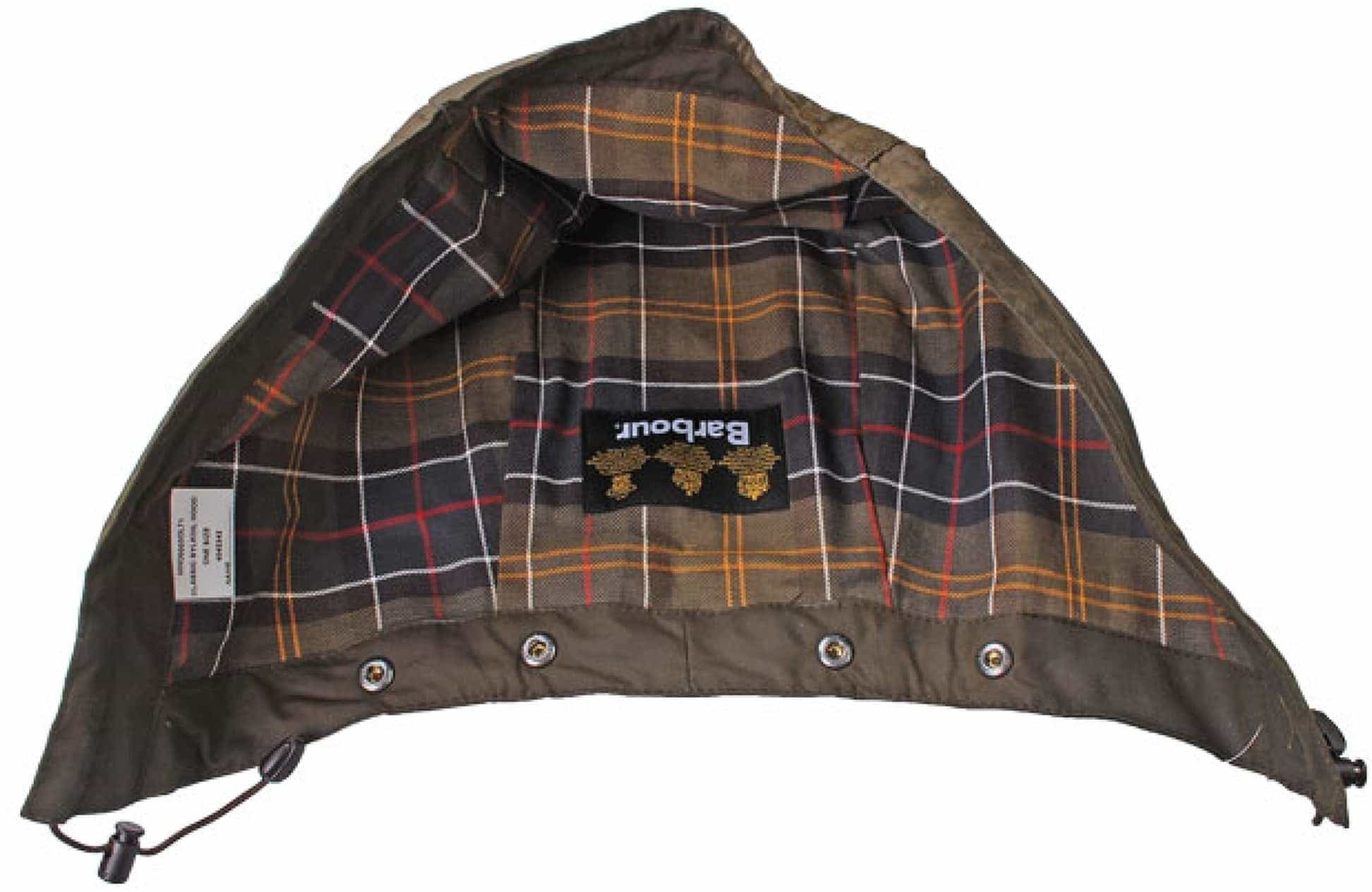 Barbour Hood Beaufort Olive foto 1