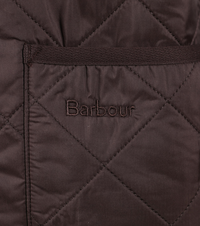 Barbour Innenfutter Polarquilt Braun foto 4