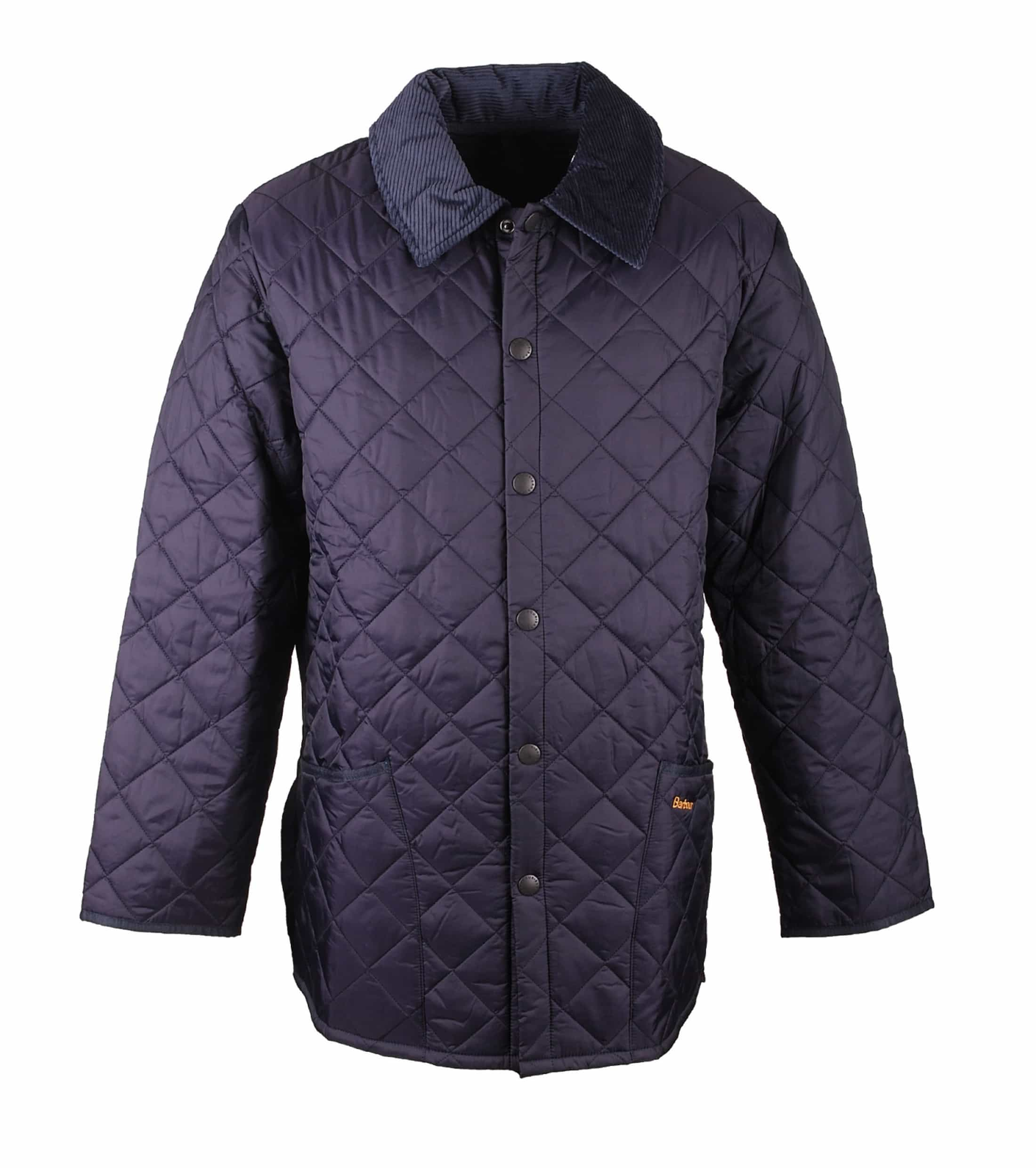 Barbour Liddesdale Jacket Navy foto 0