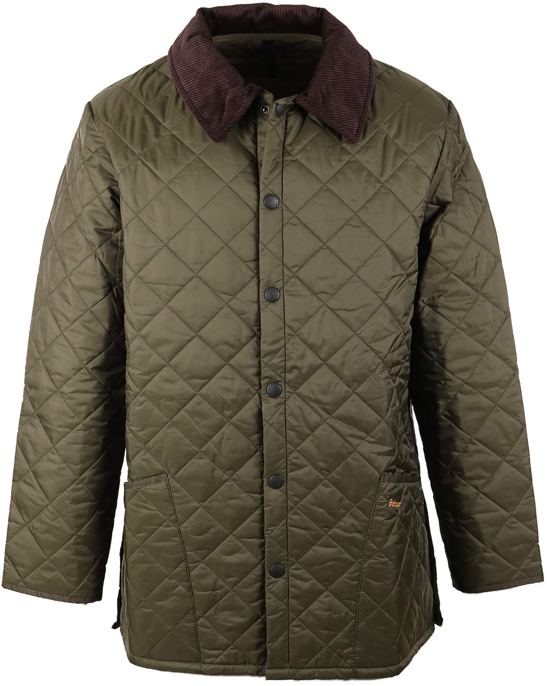 Barbour Liddesdale Quilt Green photo 0