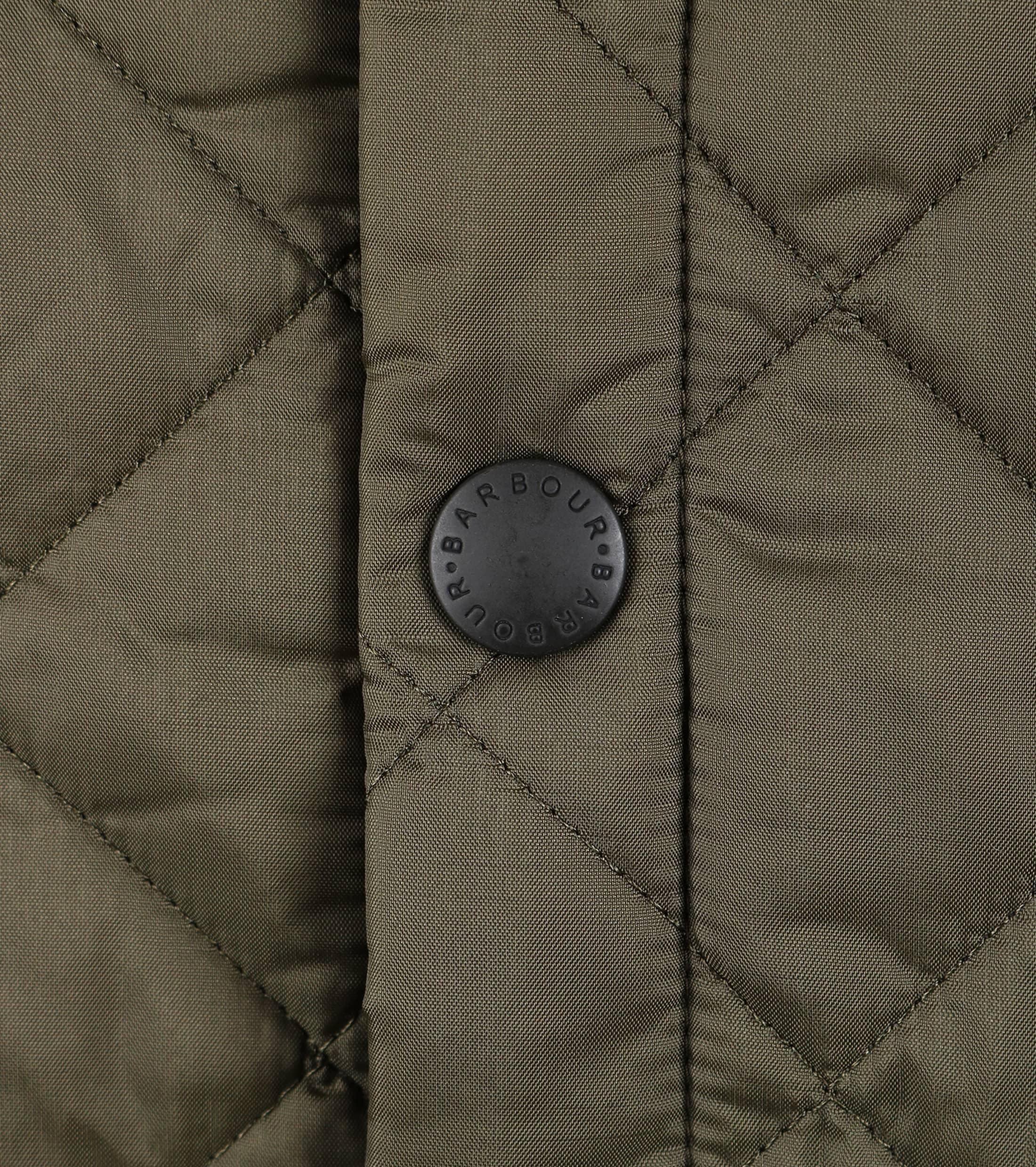 Barbour Liddesdale Quilt Green photo 2