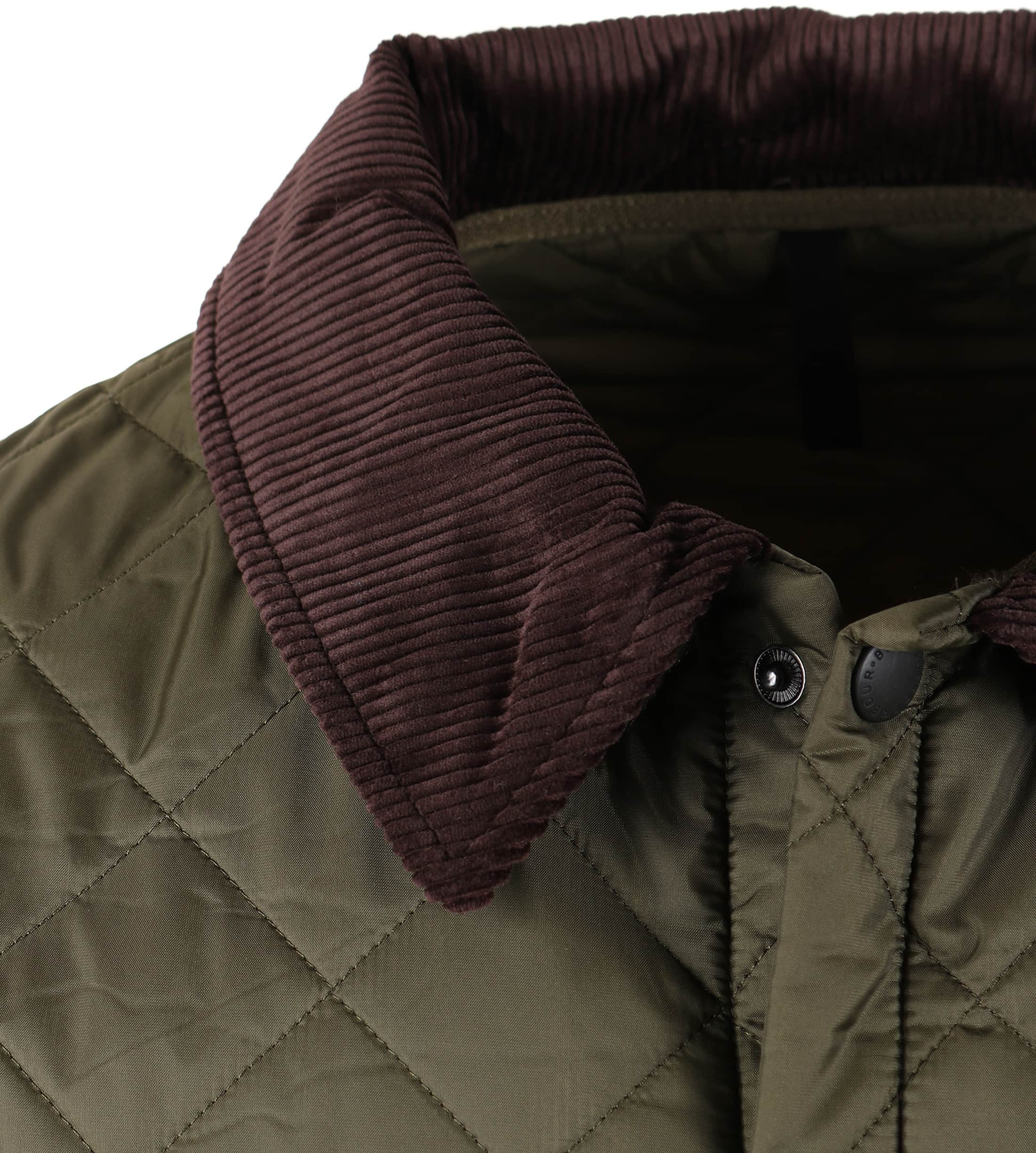 Barbour Liddesdale Quilt Green photo 3