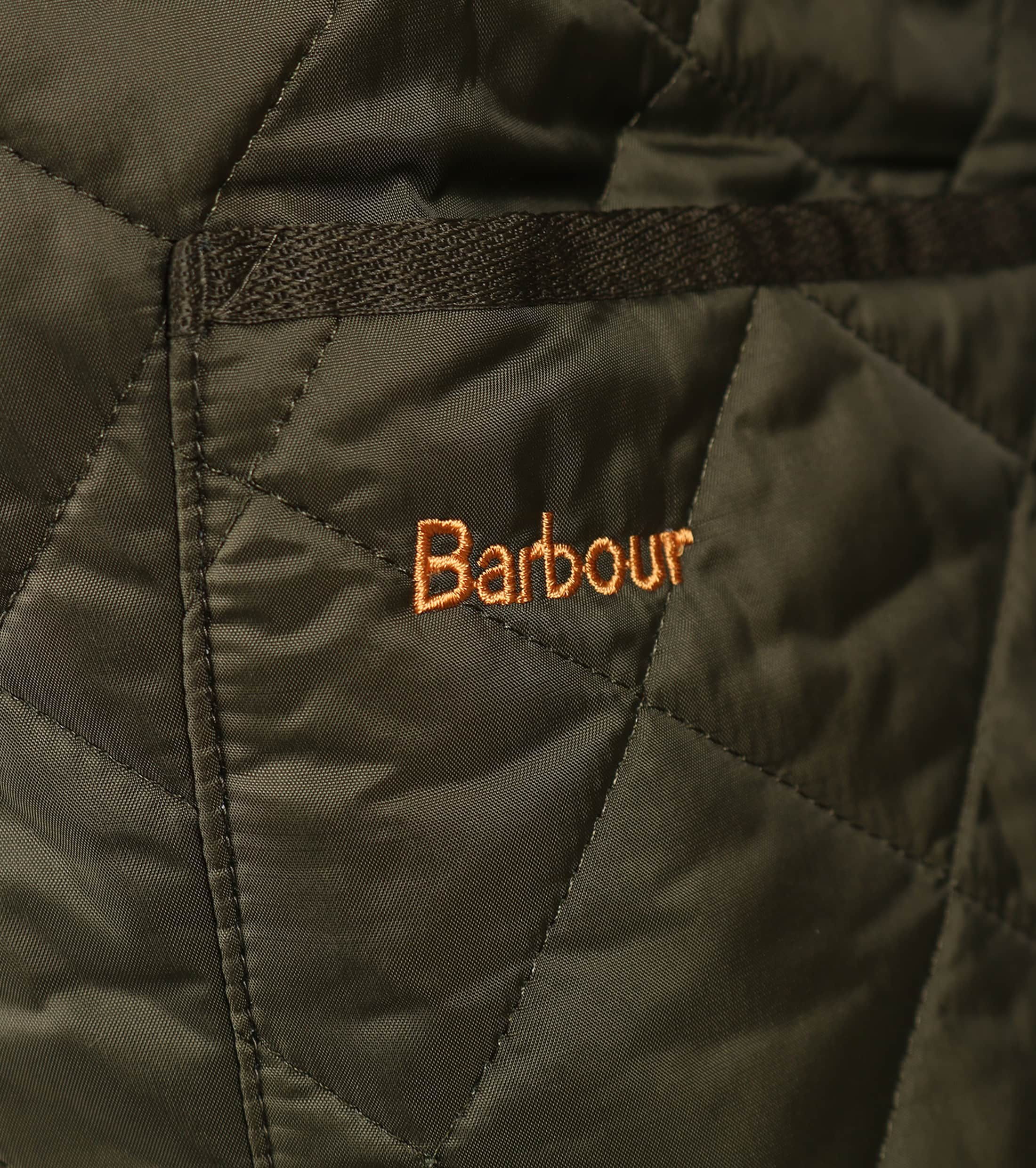 Barbour Liddesdale Quilt Green photo 4