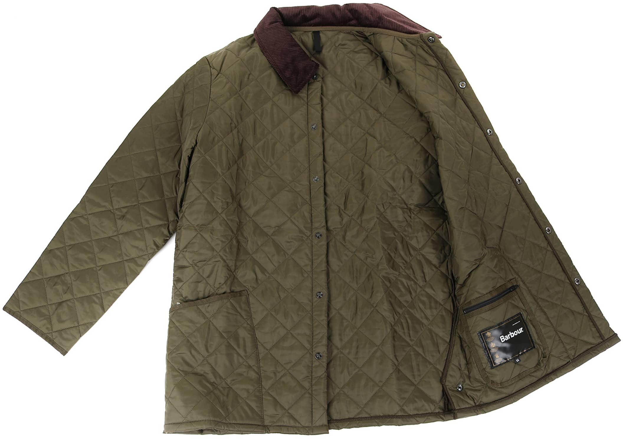 Barbour Liddesdale Quilt Green photo 5