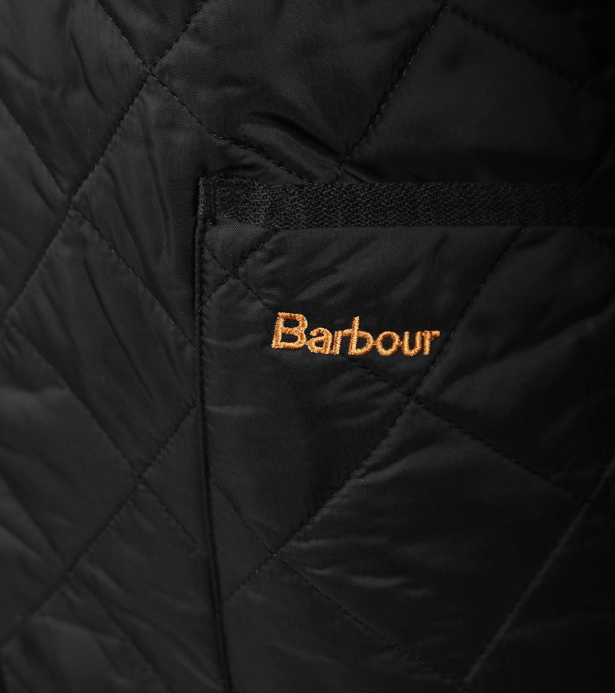 Barbour Liddesdale Quilt Zwart foto 4