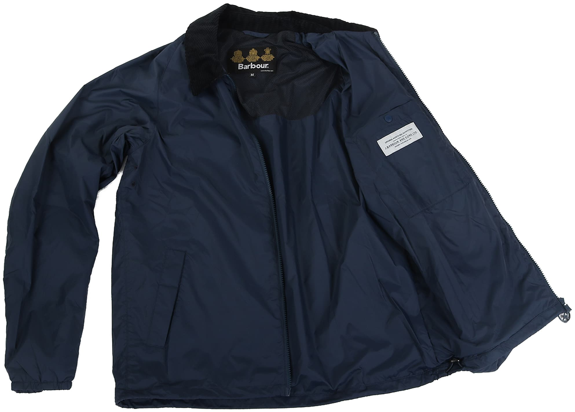 Barbour Lundy Jacket Navy foto 5