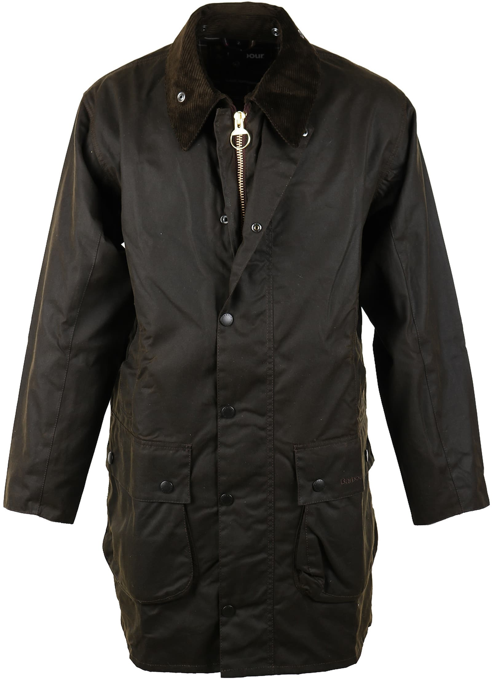 Barbour Northumbria Wax Jas Groen foto 0