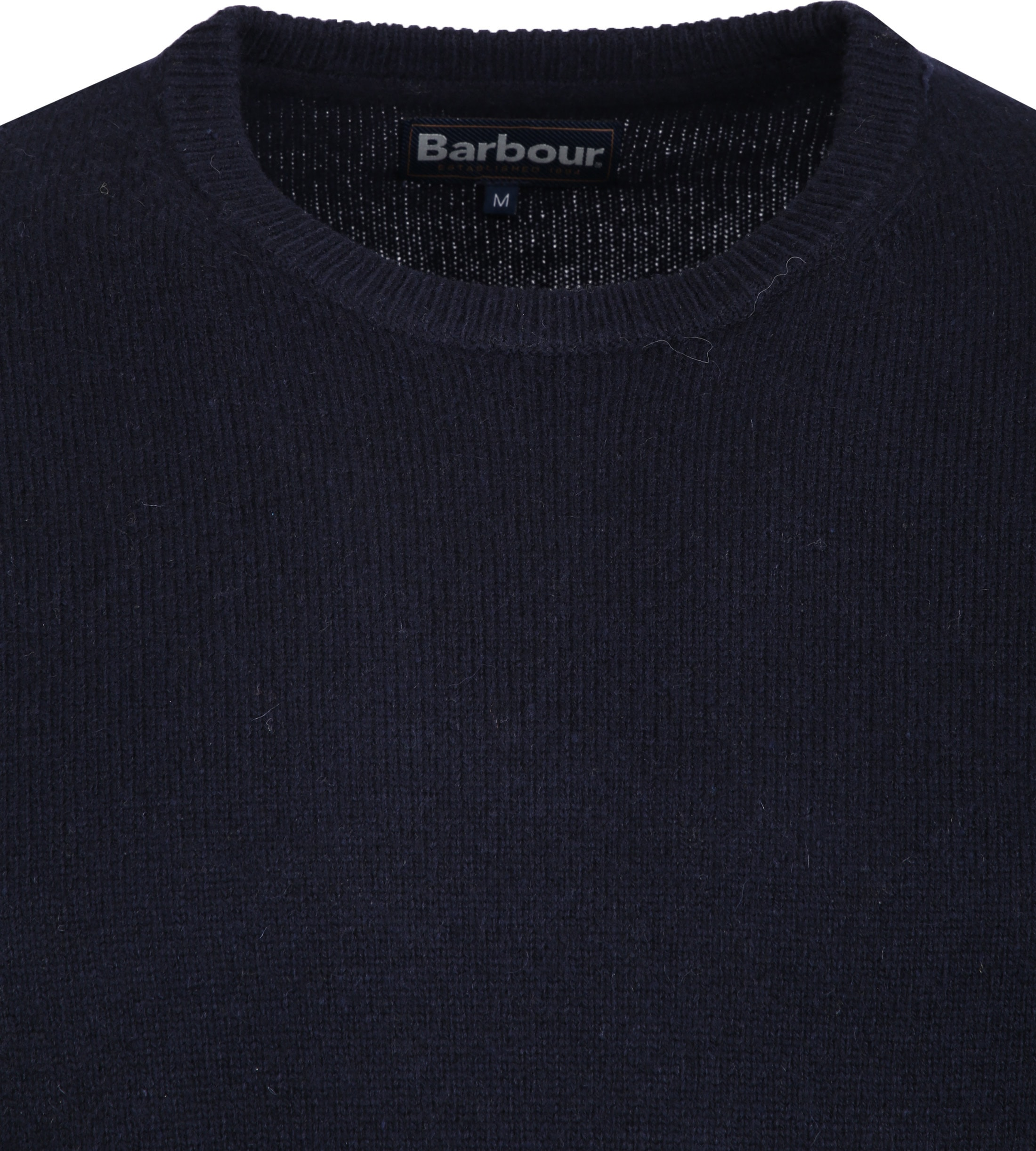 Barbour Patch Pullover Marine foto 1