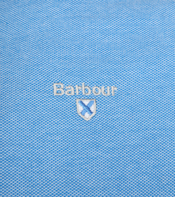 Barbour Polo Blau